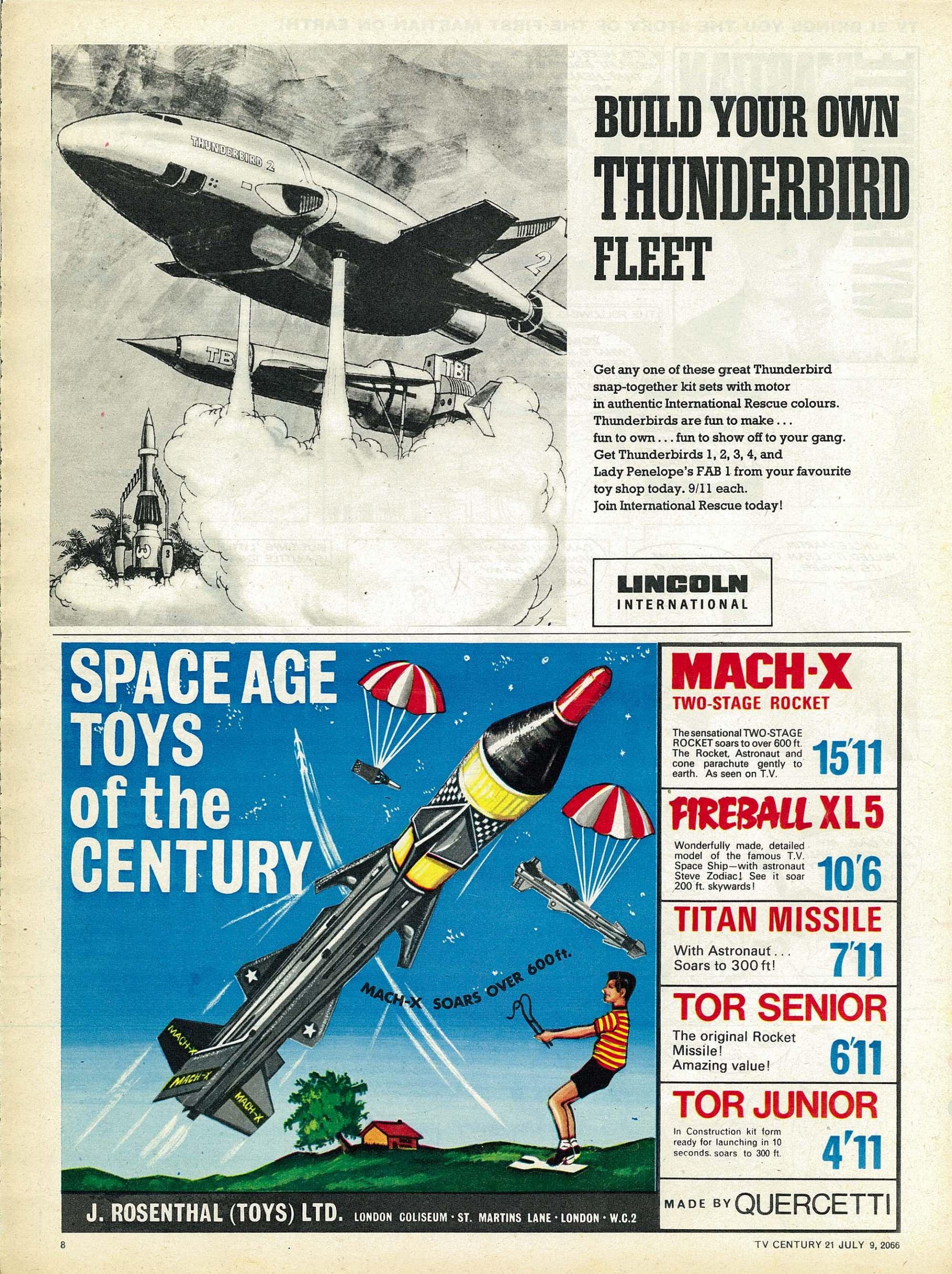 Read online TV Century 21 (TV 21) comic -  Issue #77 - 8