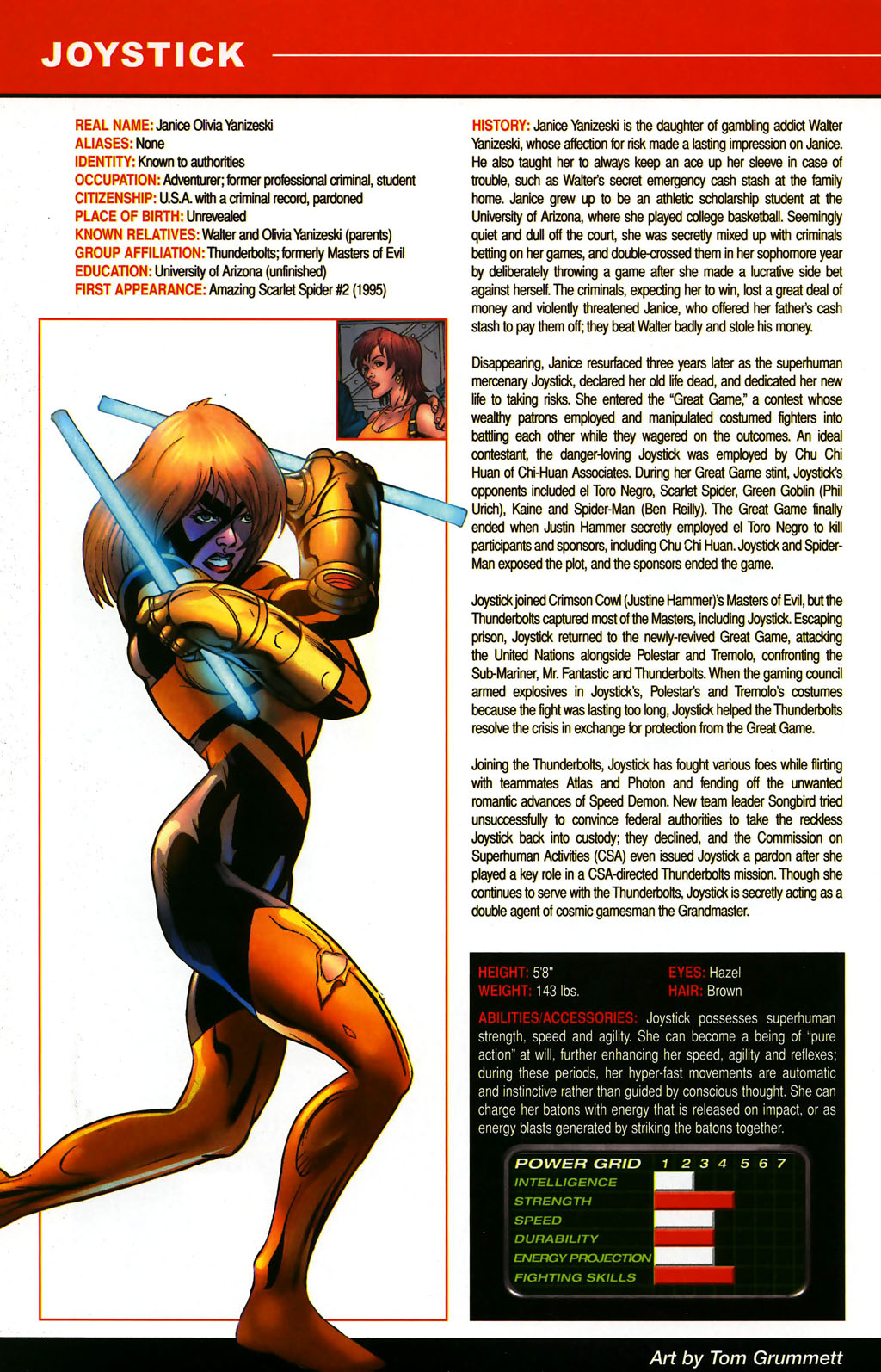 Read online All-New Official Handbook of the Marvel Universe A to Z comic -  Issue #5 - 64