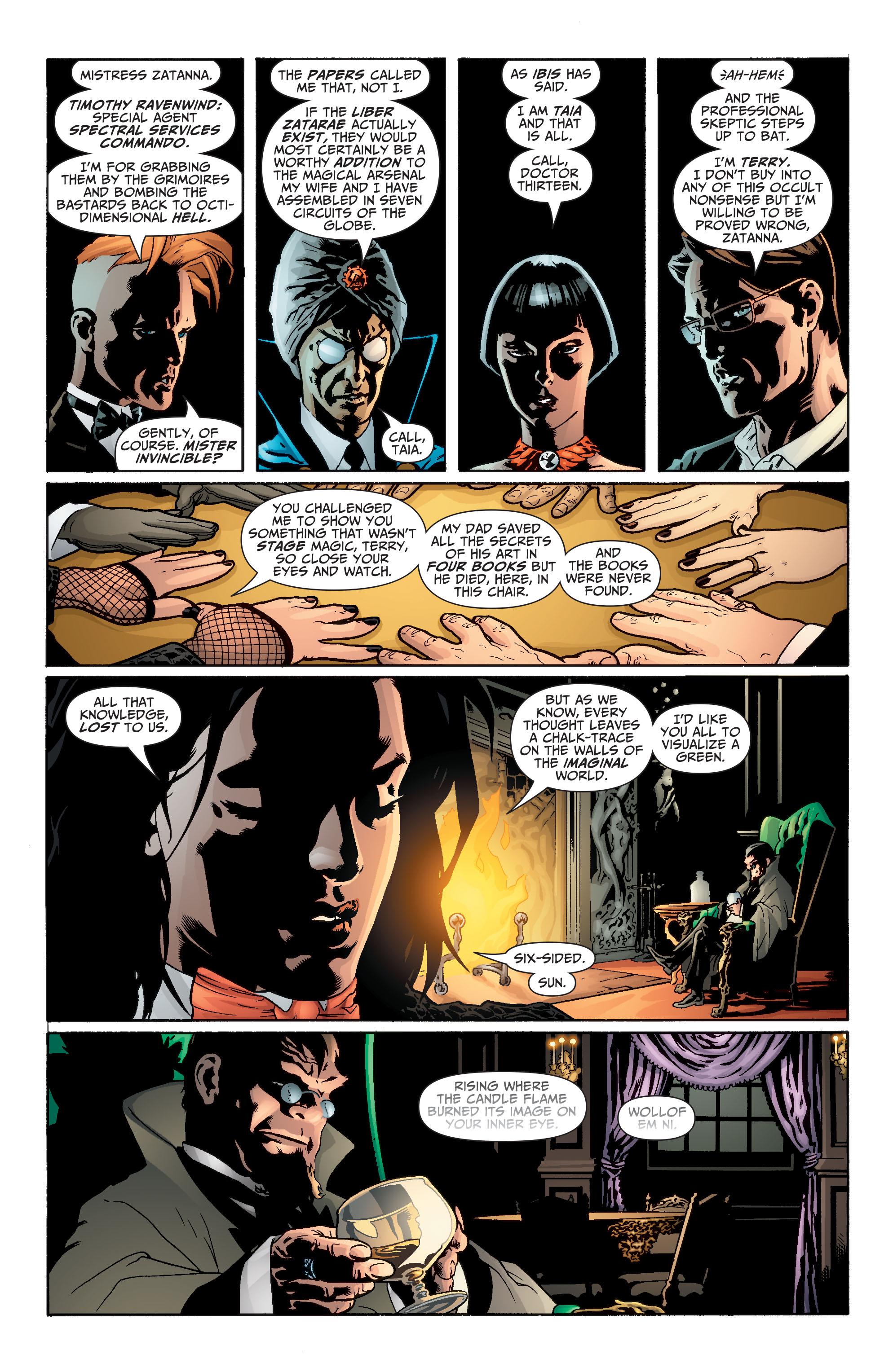 Read online Seven Soldiers: Zatanna comic -  Issue #1 - 8