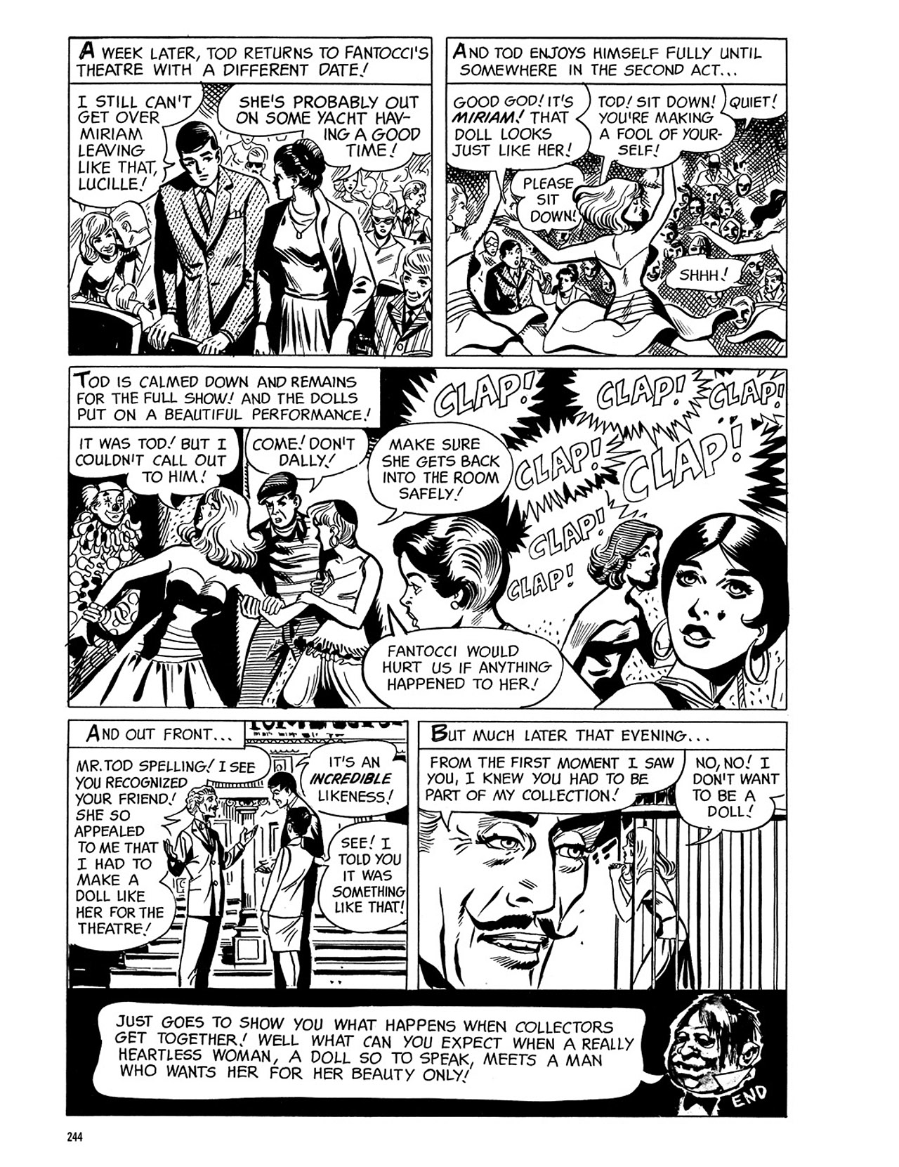 Read online Eerie Archives comic -  Issue # TPB 3 - 245