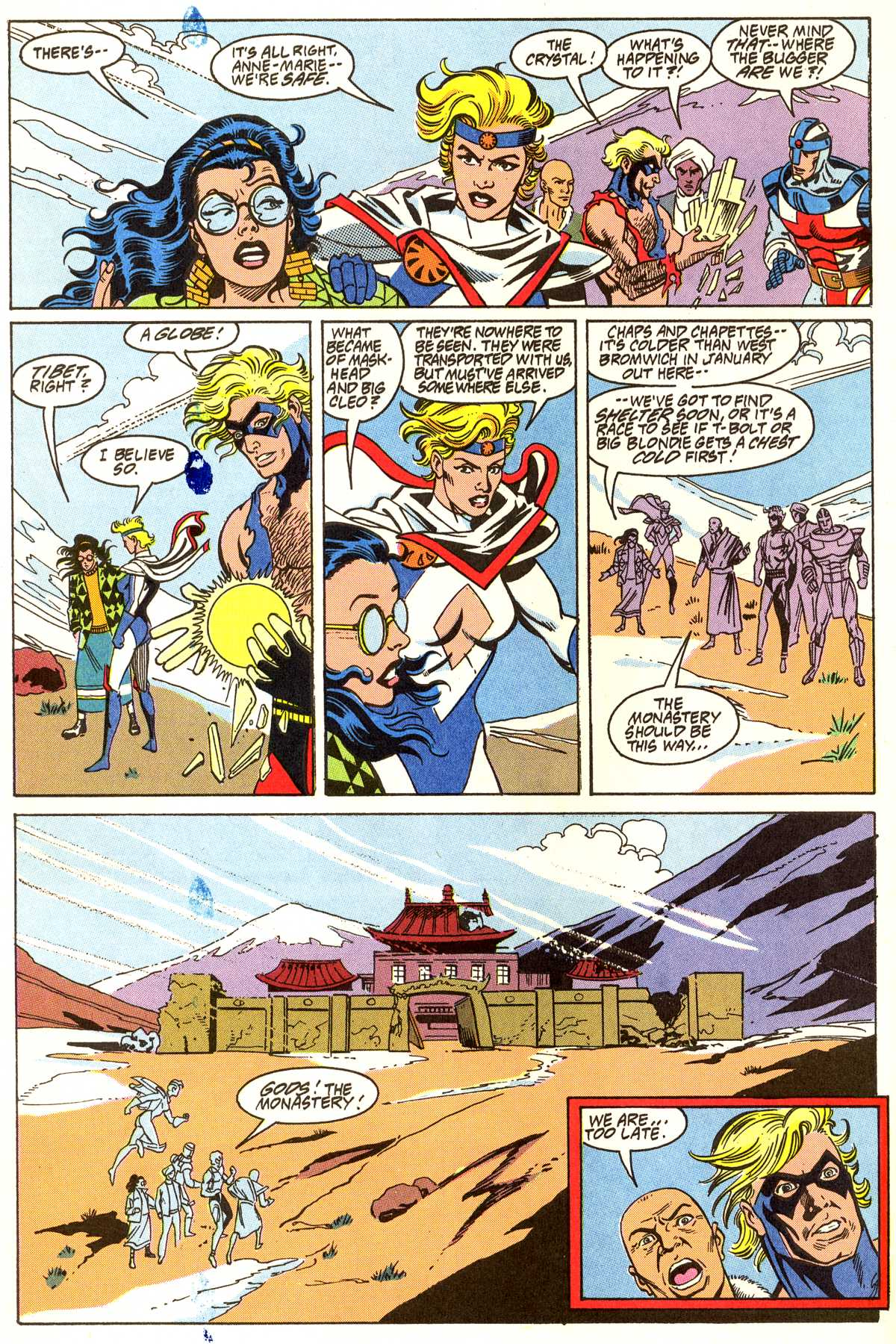 Read online Peter Cannon--Thunderbolt (1992) comic -  Issue #11 - 21