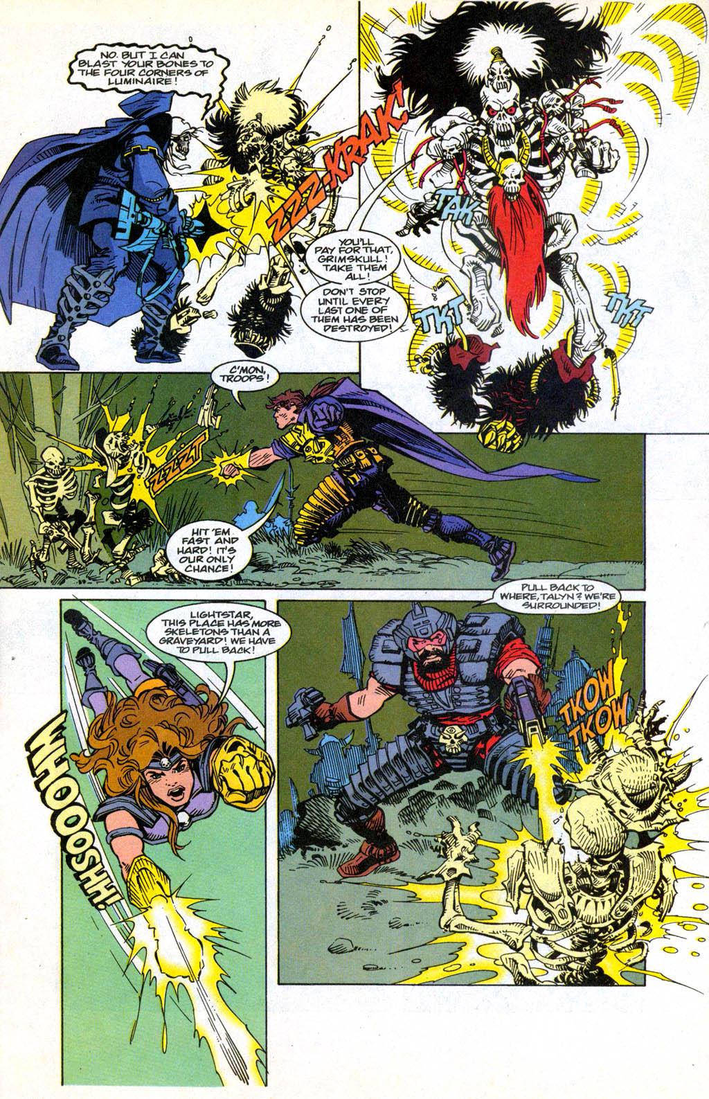 Skeleton Warriors Issue #3 #3 - English 4