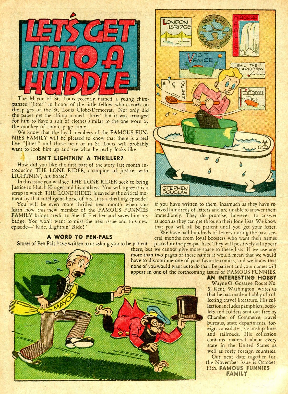 Read online Famous Funnies comic -  Issue #63 - 9