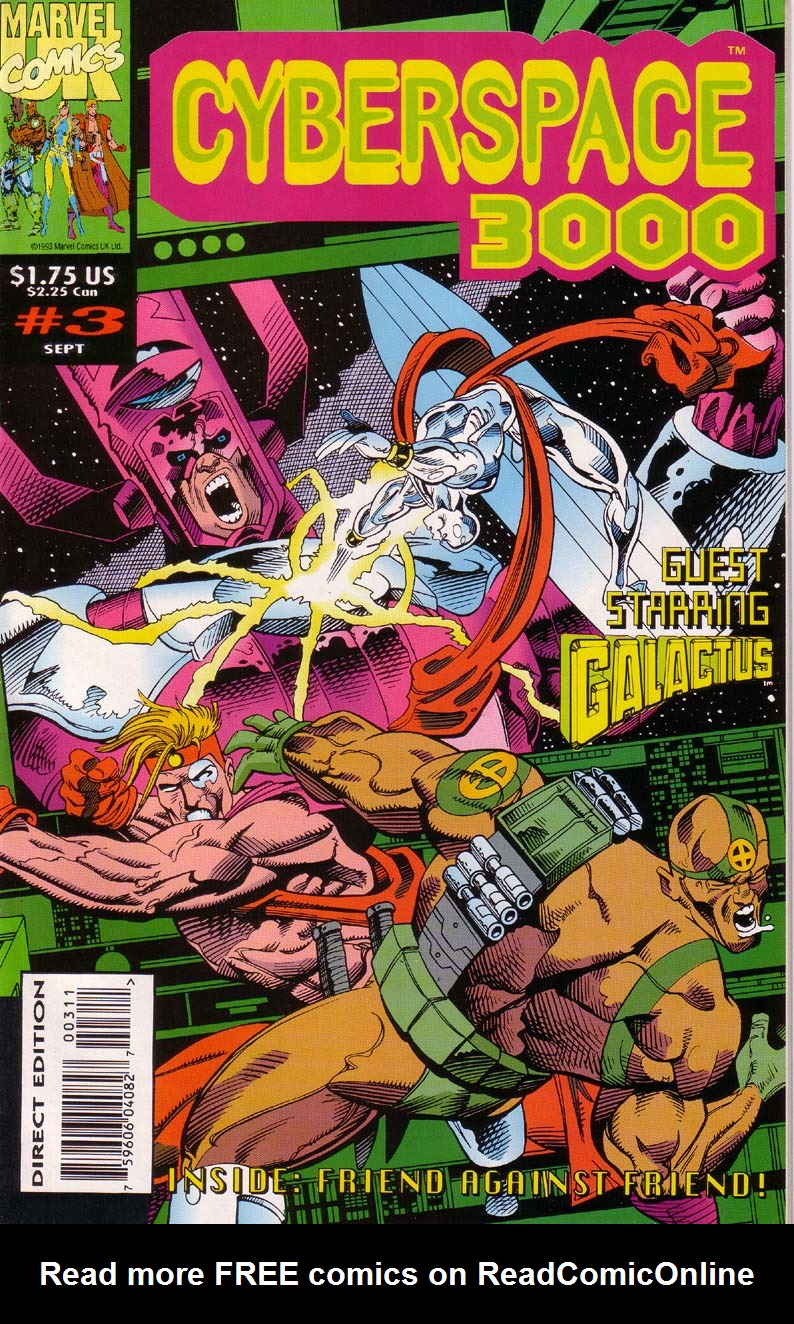 Read online Cyberspace 3000 comic -  Issue #3 - 1