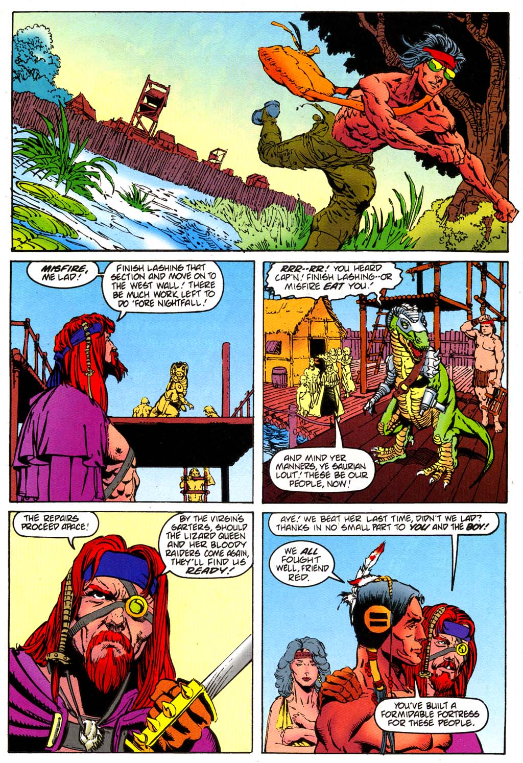 Read online Turok, Dinosaur Hunter (1993) comic -  Issue #47 - 4