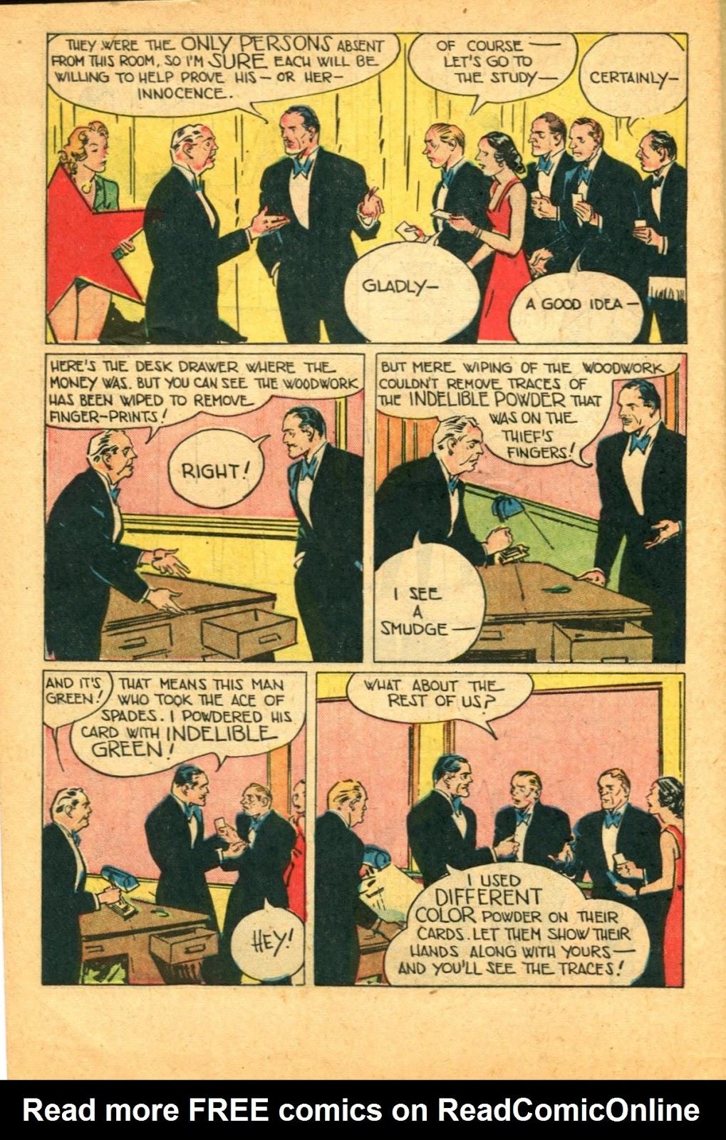 Read online Super-Magician Comics comic -  Issue #49 - 48