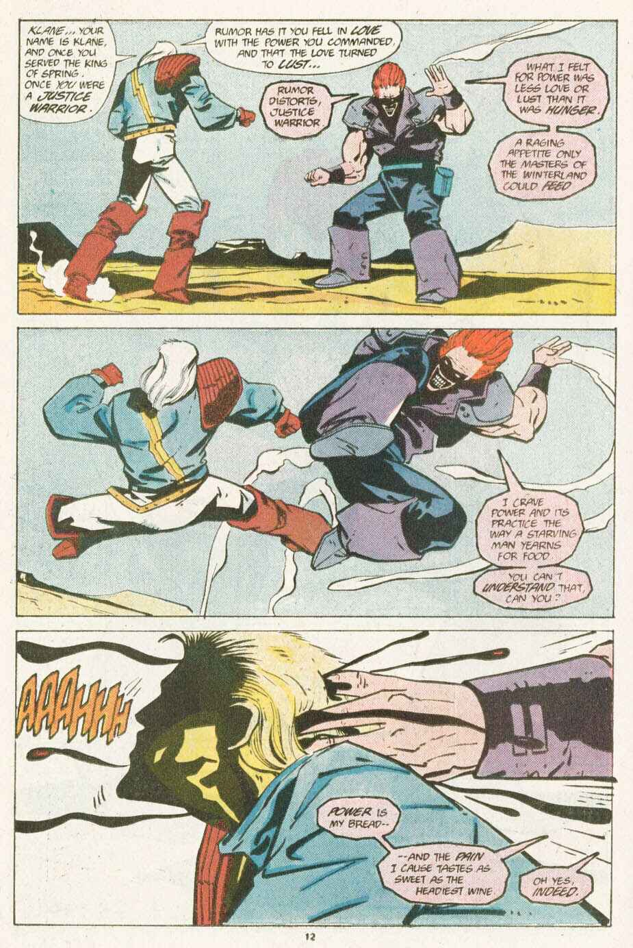 Read online Justice (1986) comic -  Issue #10 - 13
