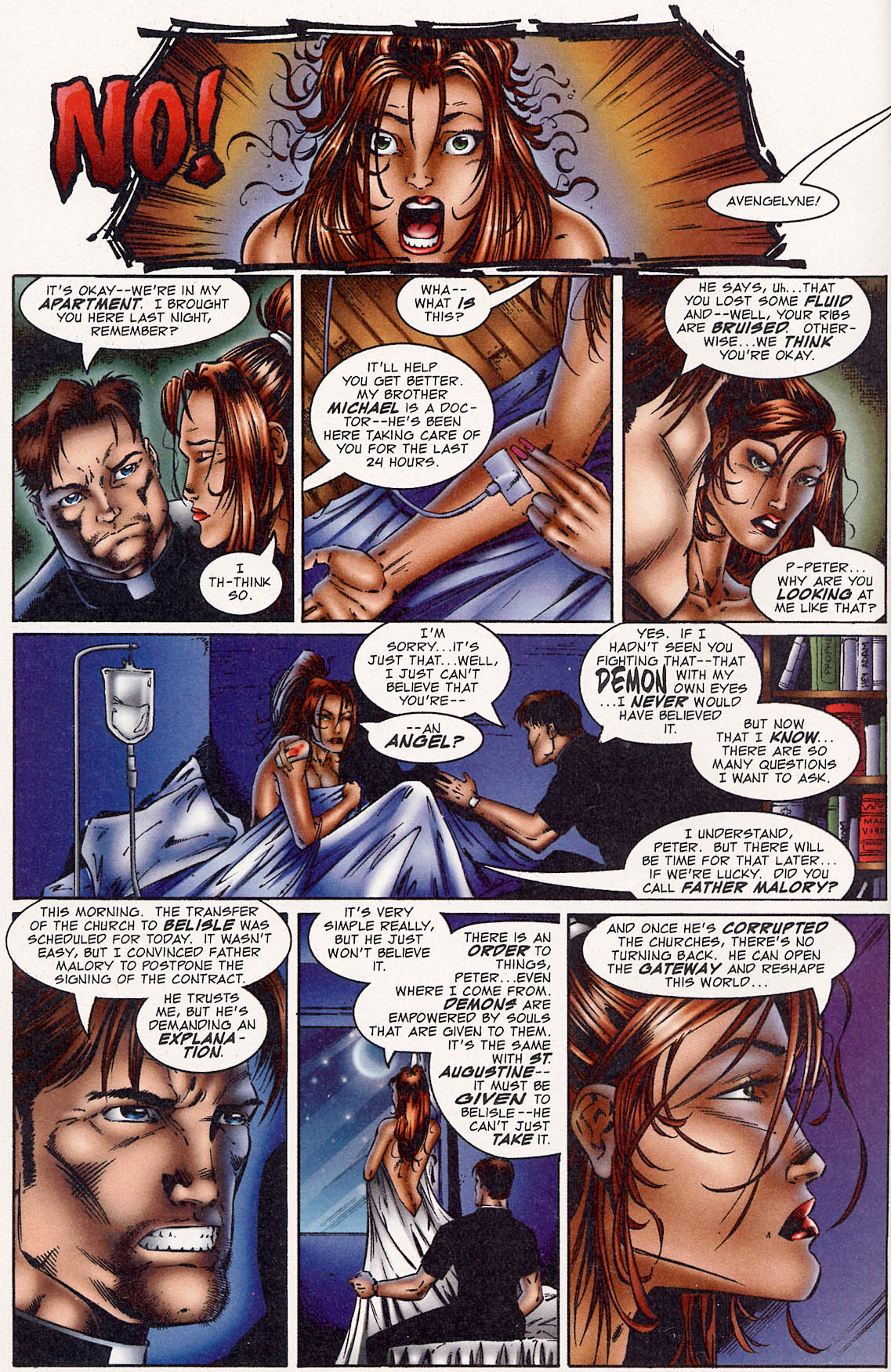 Read online Avengelyne (1995) comic -  Issue #3 - 6