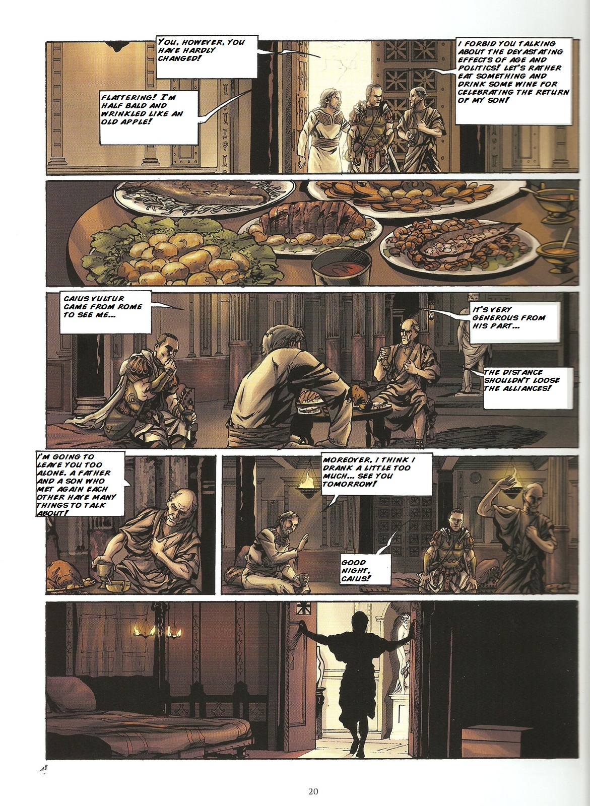Read online Assassin's Creed (2009) comic -  Issue #2 - 20