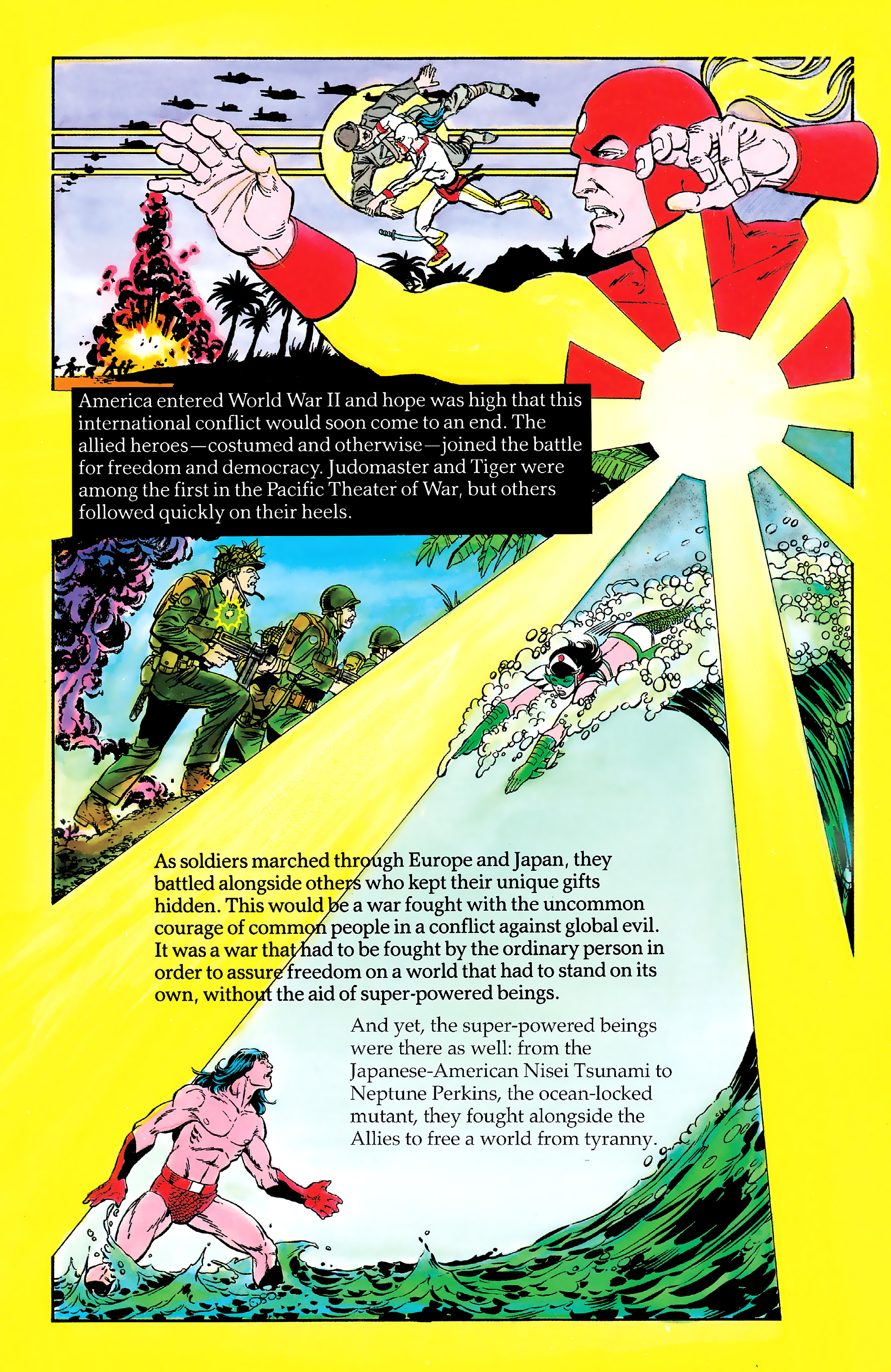 Read online History of the DC Universe comic -  Issue #2 - 6