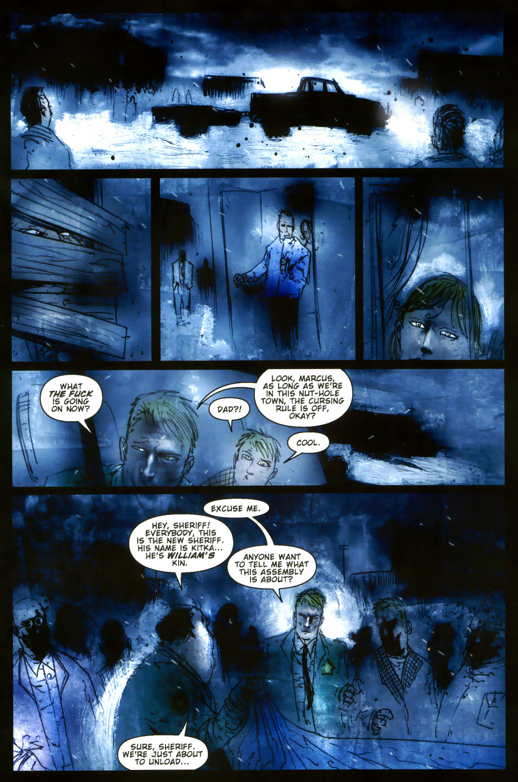 Read online 30 Days of Night: Return to Barrow comic -  Issue #3 - 9