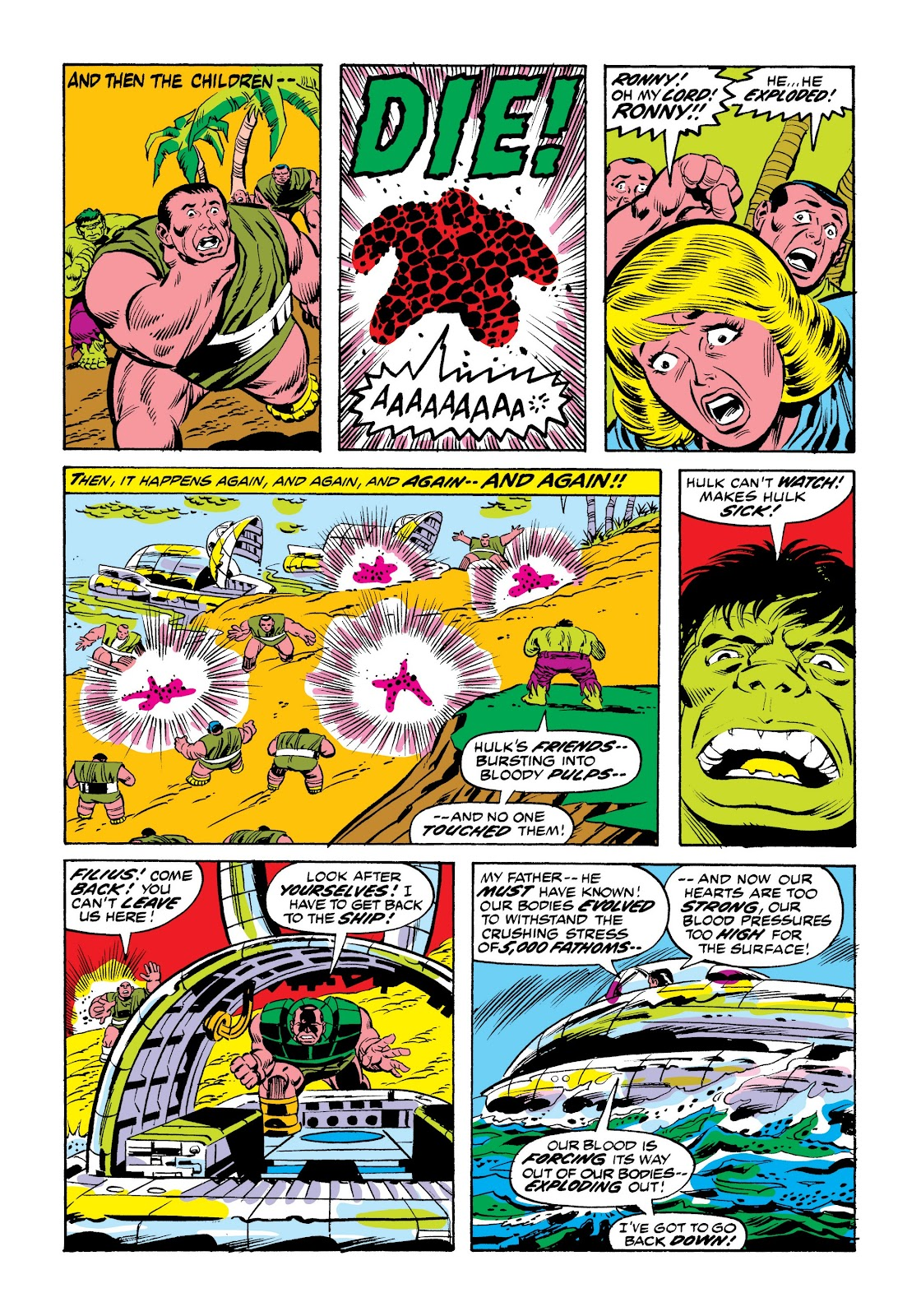 Read online Marvel Masterworks: The Incredible Hulk comic -  Issue # TPB 9 (Part 2) - 95
