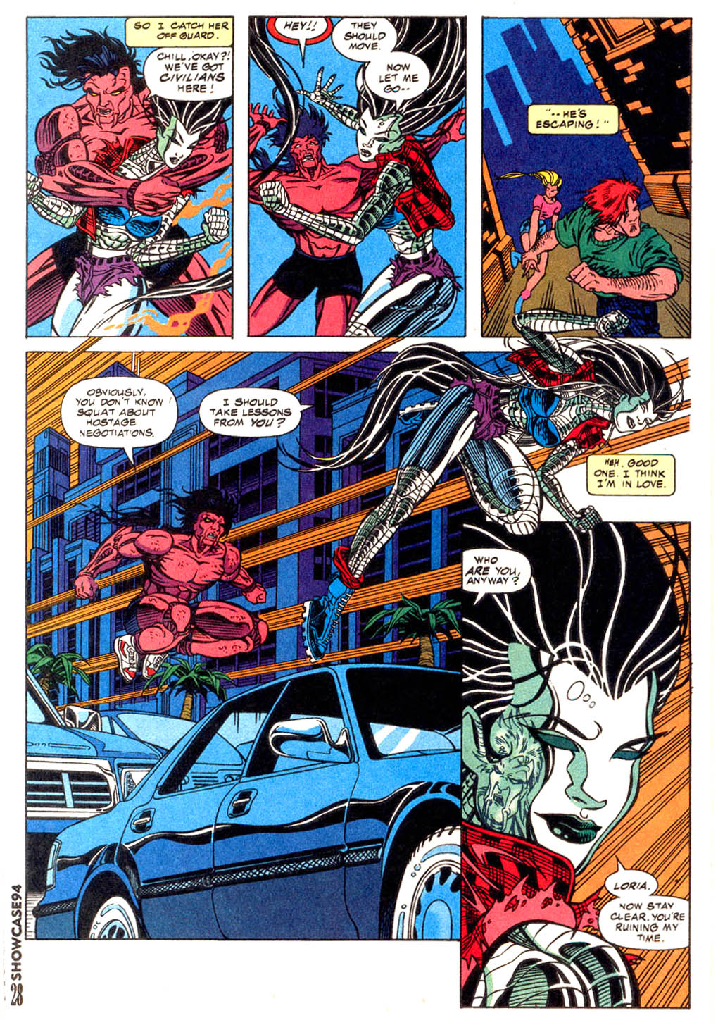Read online Showcase '94 comic -  Issue #12 - 25