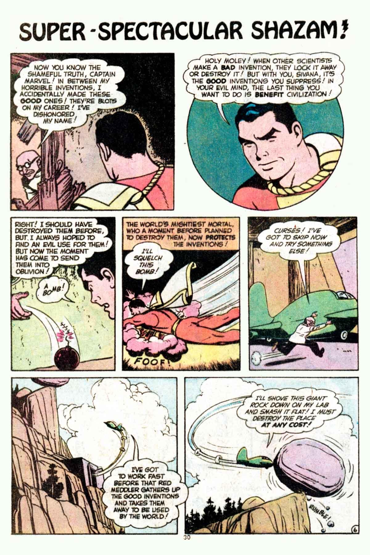 Read online Shazam! (1973) comic -  Issue #15 - 30