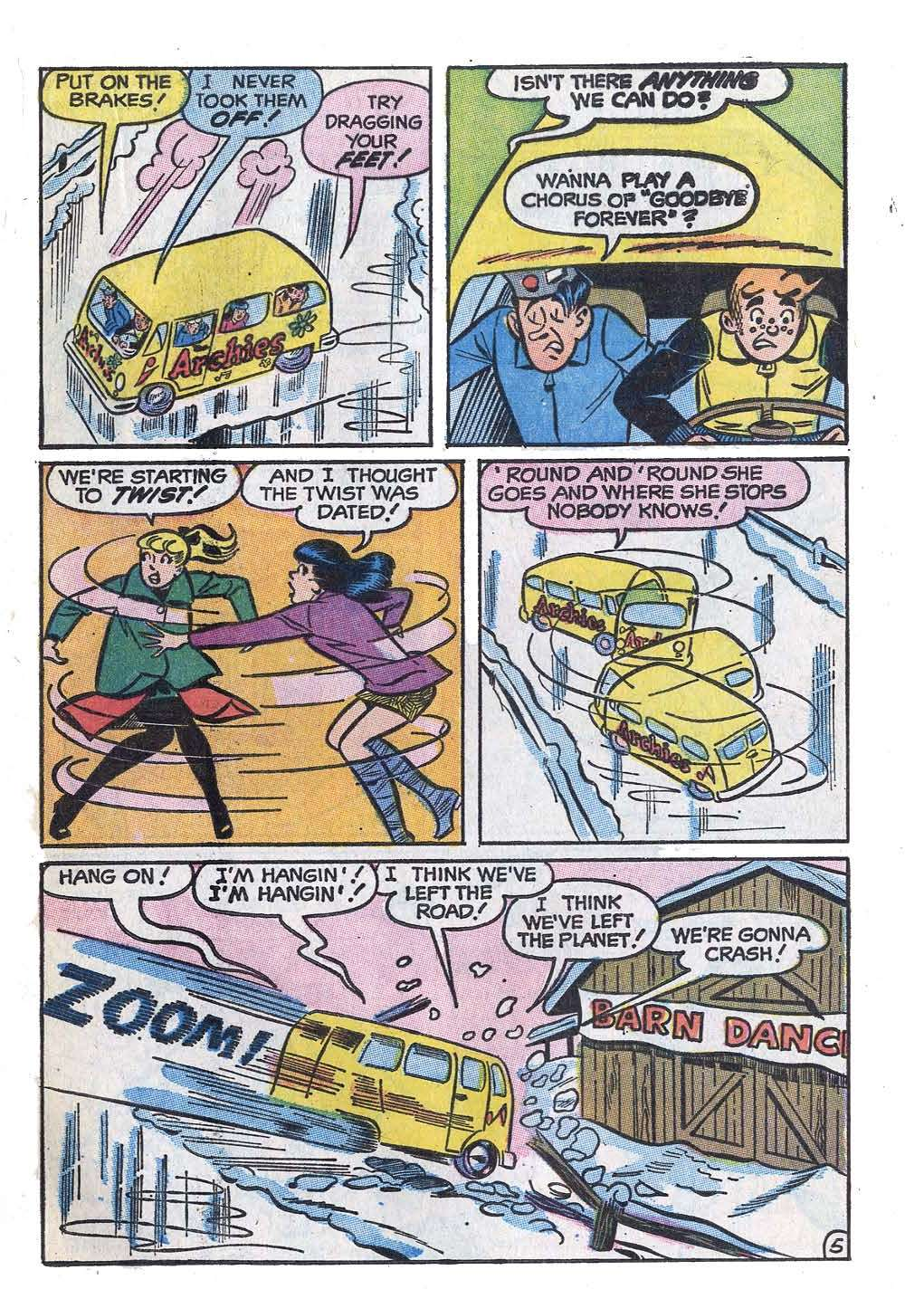 Read online Archie (1960) comic -  Issue #208 - 17