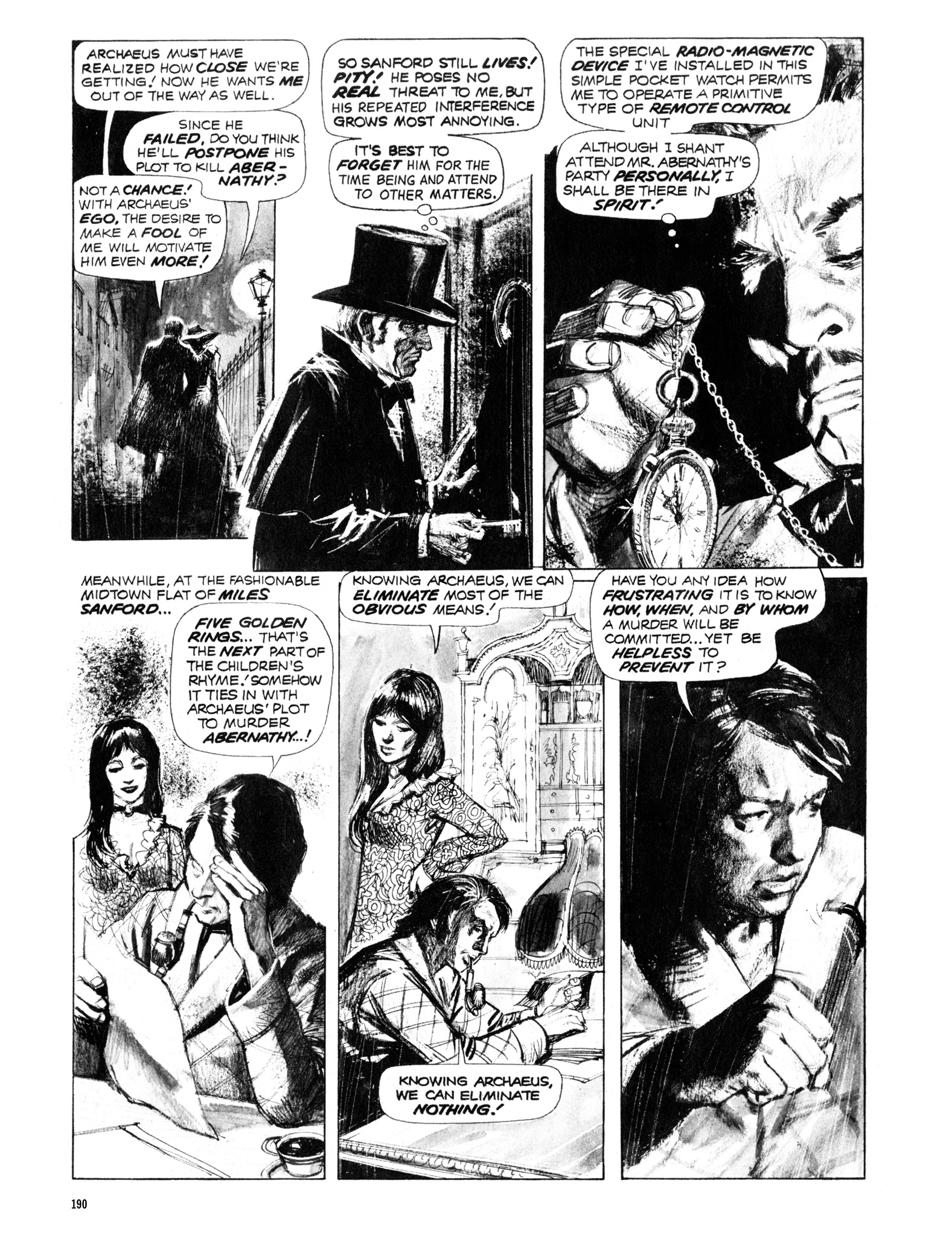 Read online Eerie Archives comic -  Issue # TPB 12 - 191