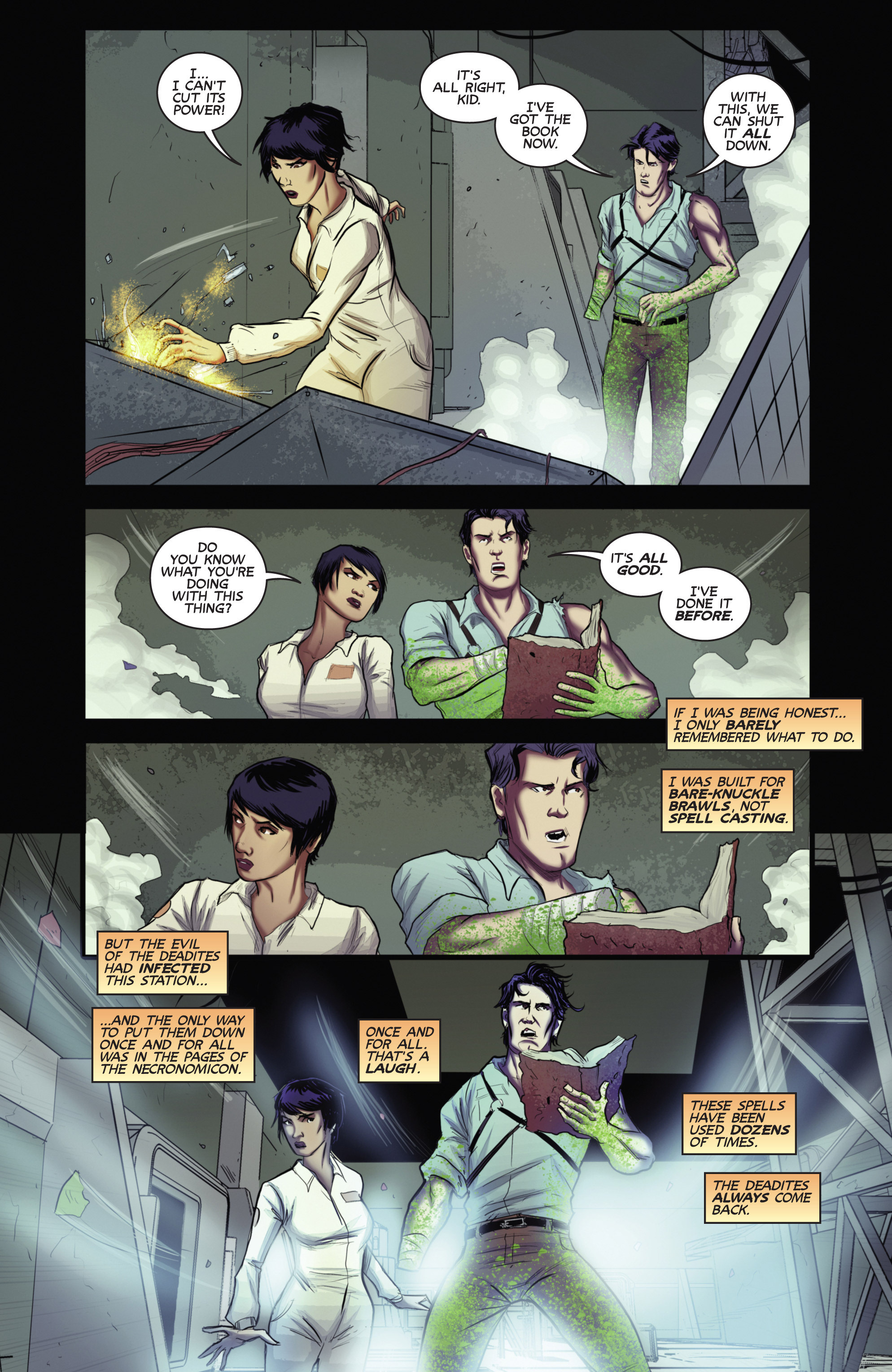 Read online Army of Darkness (2014) comic -  Issue #4 - 21