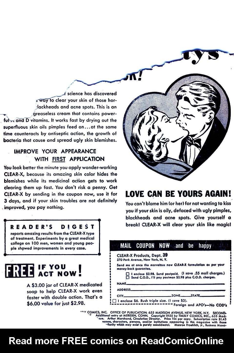 Love Romances (1949) issue 52 - Page 2