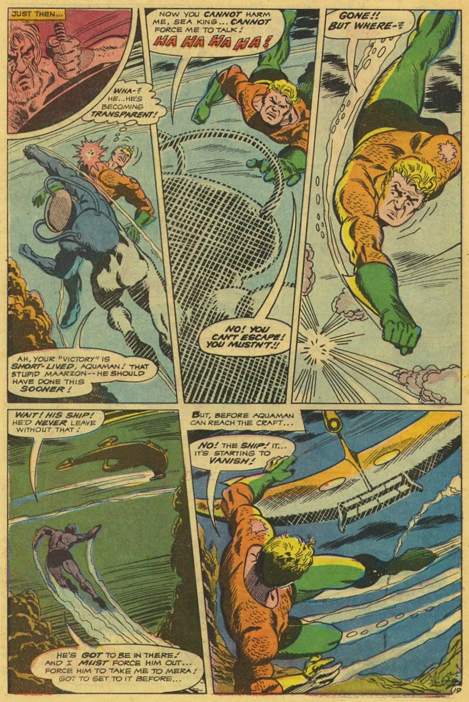 Read online Aquaman (1962) comic -  Issue #42 - 26