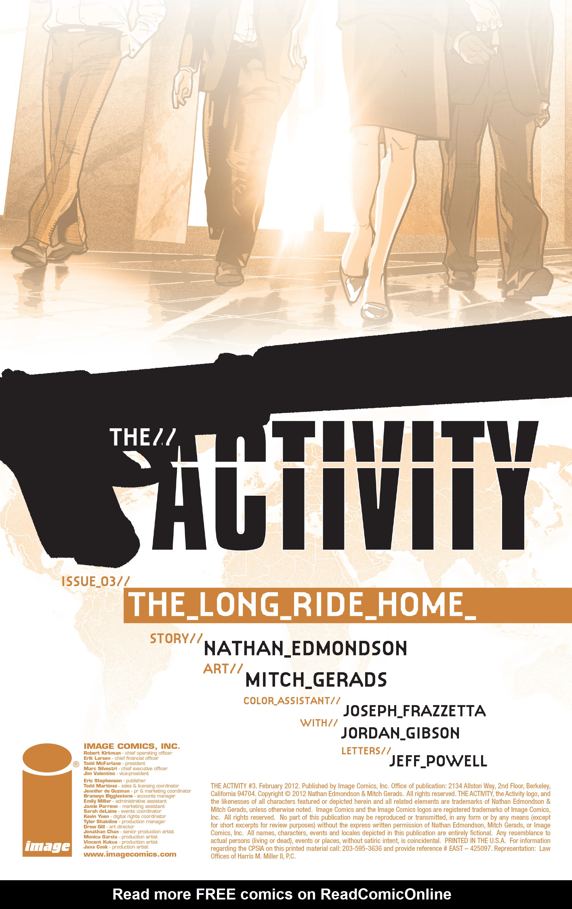 Read online The Activity comic -  Issue #3 - 2