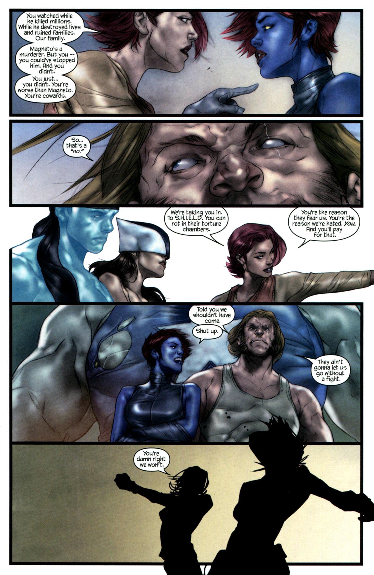 Read online Ultimatum: X-Men Requiem comic -  Issue # Full - 16