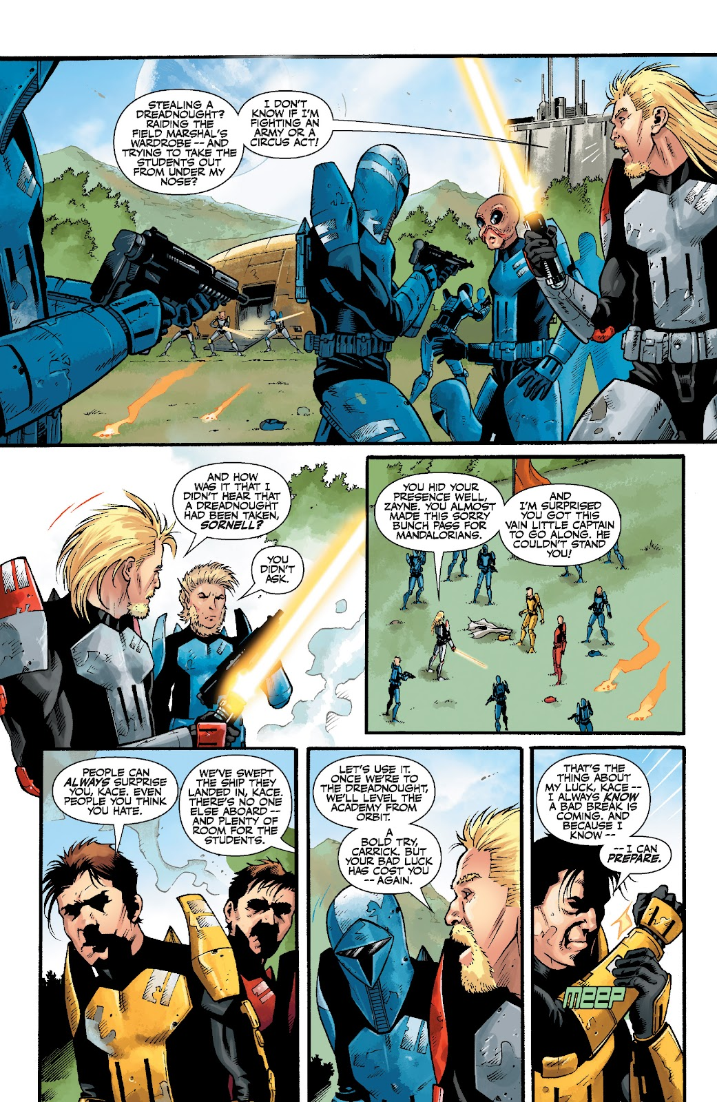 Read online Star Wars Legends: The Old Republic - Epic Collection comic -  Issue # TPB 3 (Part 5) - 5