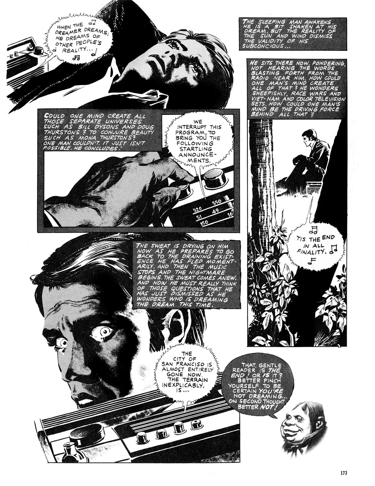 Read online Eerie Archives comic -  Issue # TPB 9 - 174