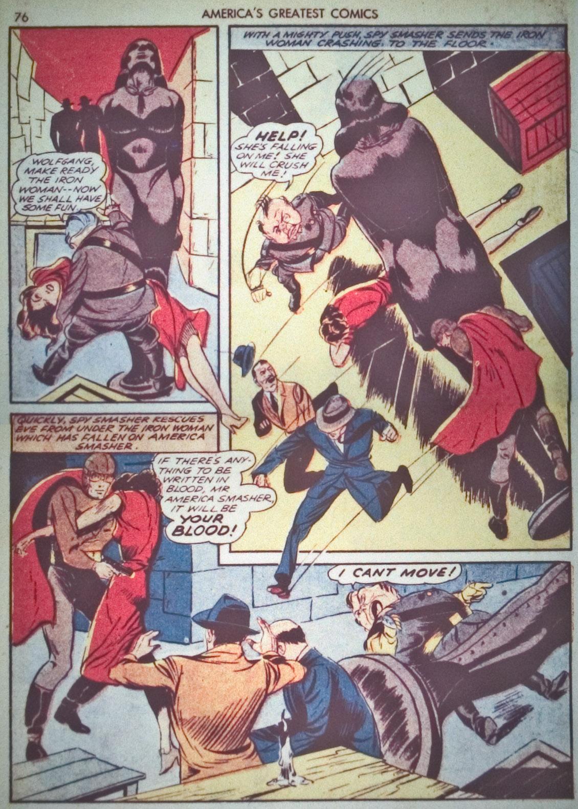 Read online America's Greatest Comics comic -  Issue #1 - 79
