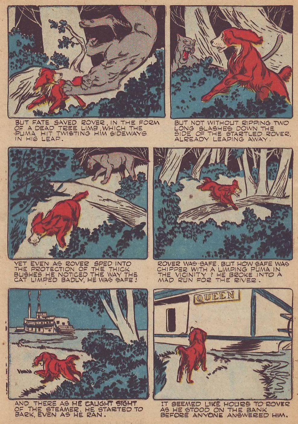 Read online Animal Comics comic -  Issue #23 - 36
