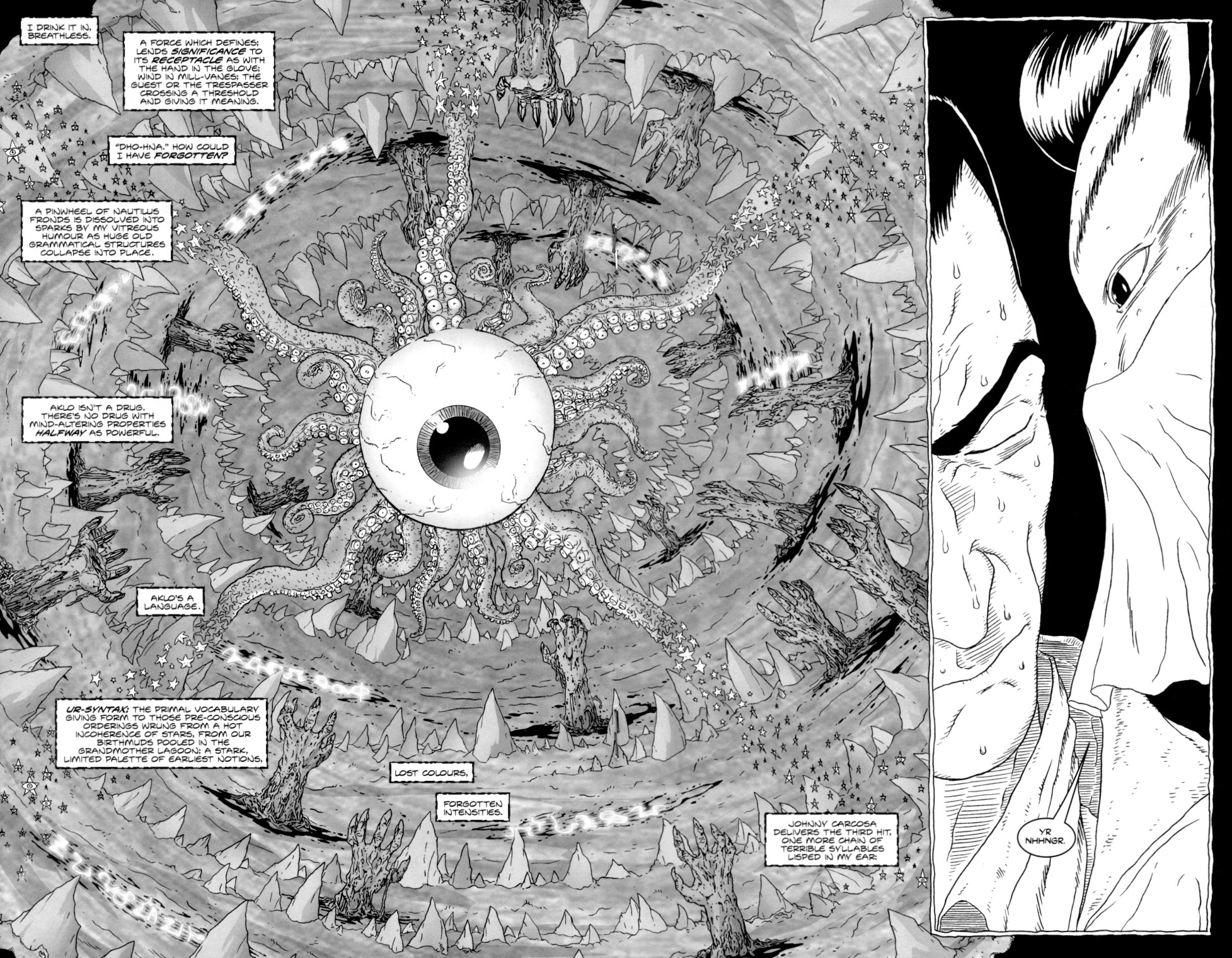 Read online Alan Moore's The Courtyard comic -  Issue #2 - 17
