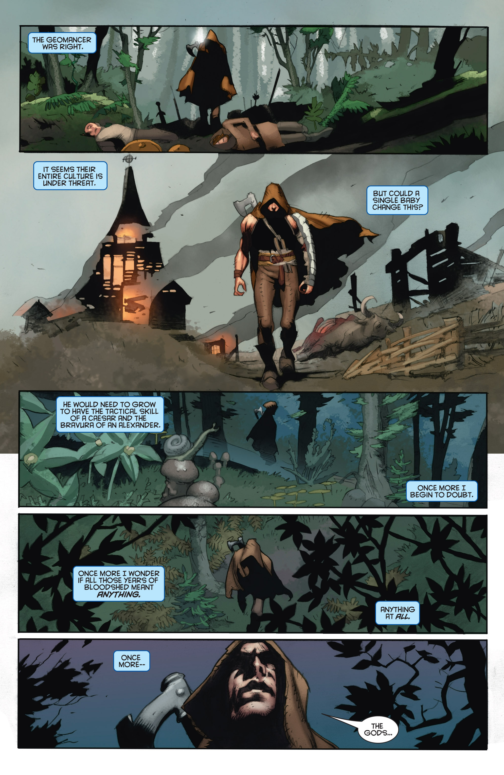 Read online Eternal Warrior: Days of Steel comic -  Issue #1 - 17