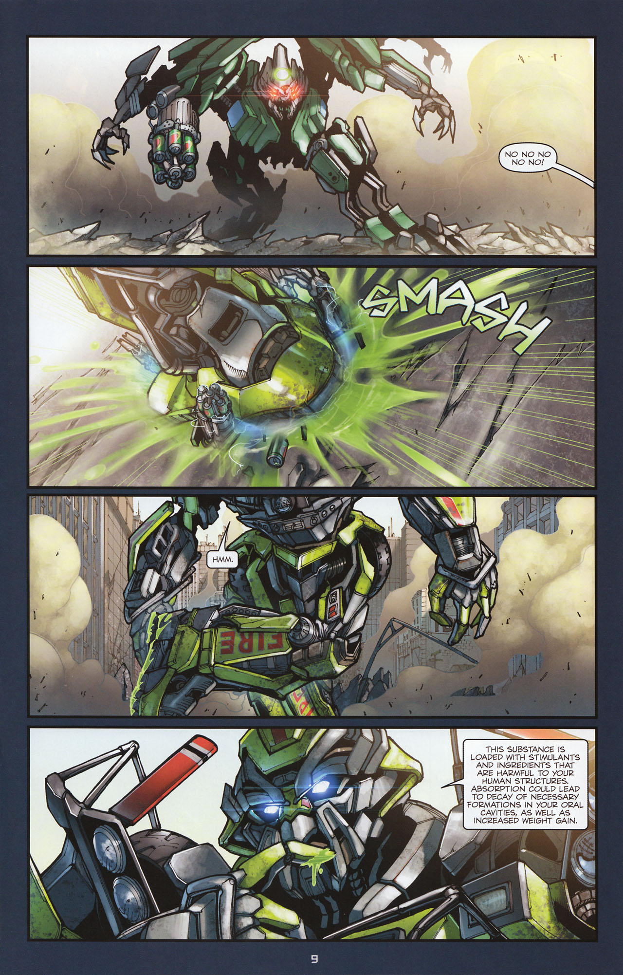 Read online Transformers: Alliance comic -  Issue #1 - 12