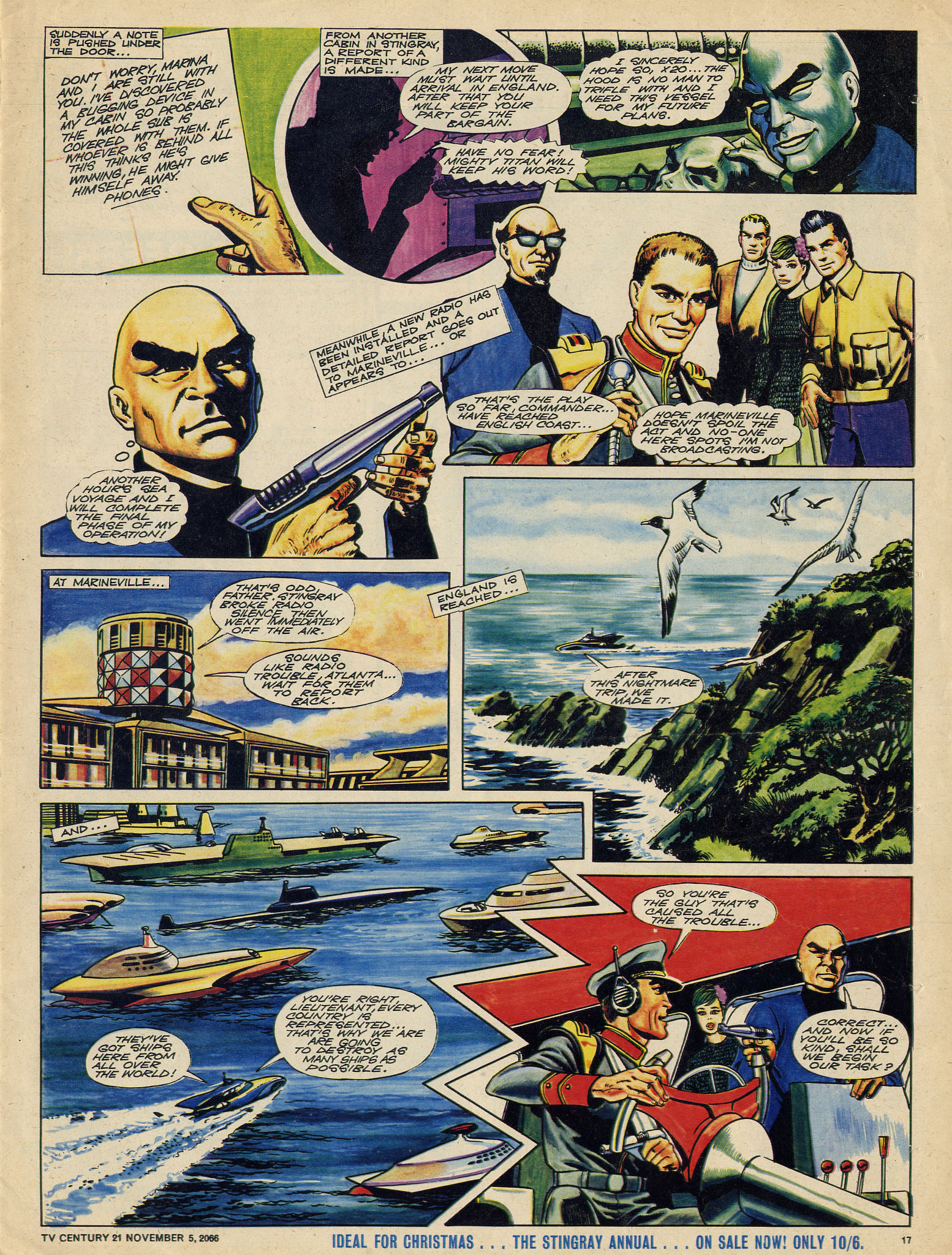 Read online TV Century 21 (TV 21) comic -  Issue #94 - 16