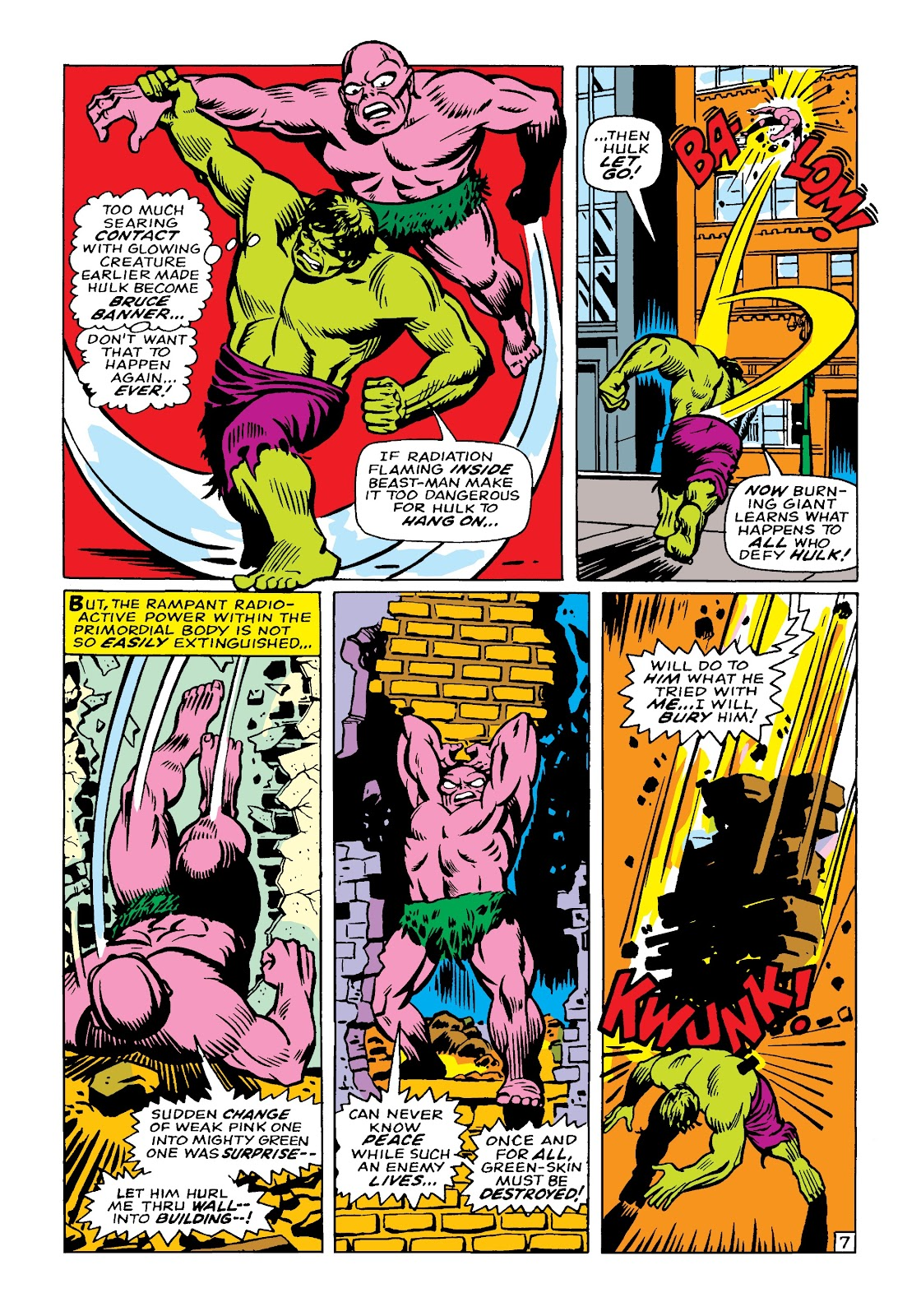Read online Marvel Masterworks: The Incredible Hulk comic -  Issue # TPB 4 (Part 1) - 77