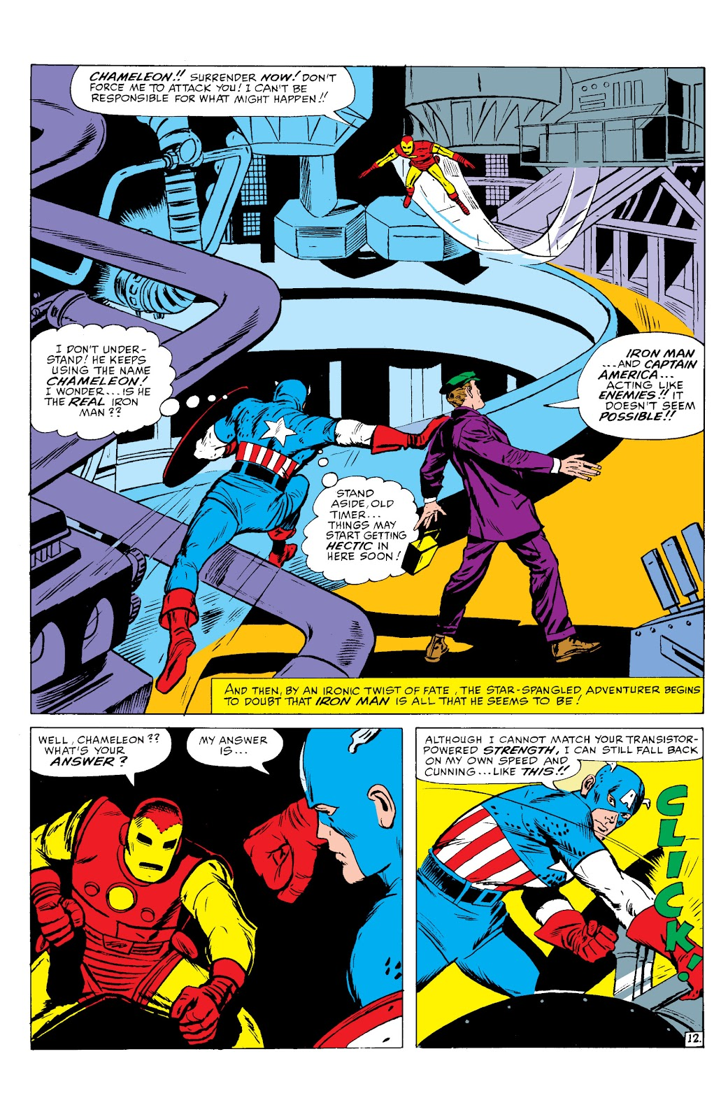 Read online Marvel Masterworks: The Invincible Iron Man comic -  Issue # TPB 2 (Part 2) - 33