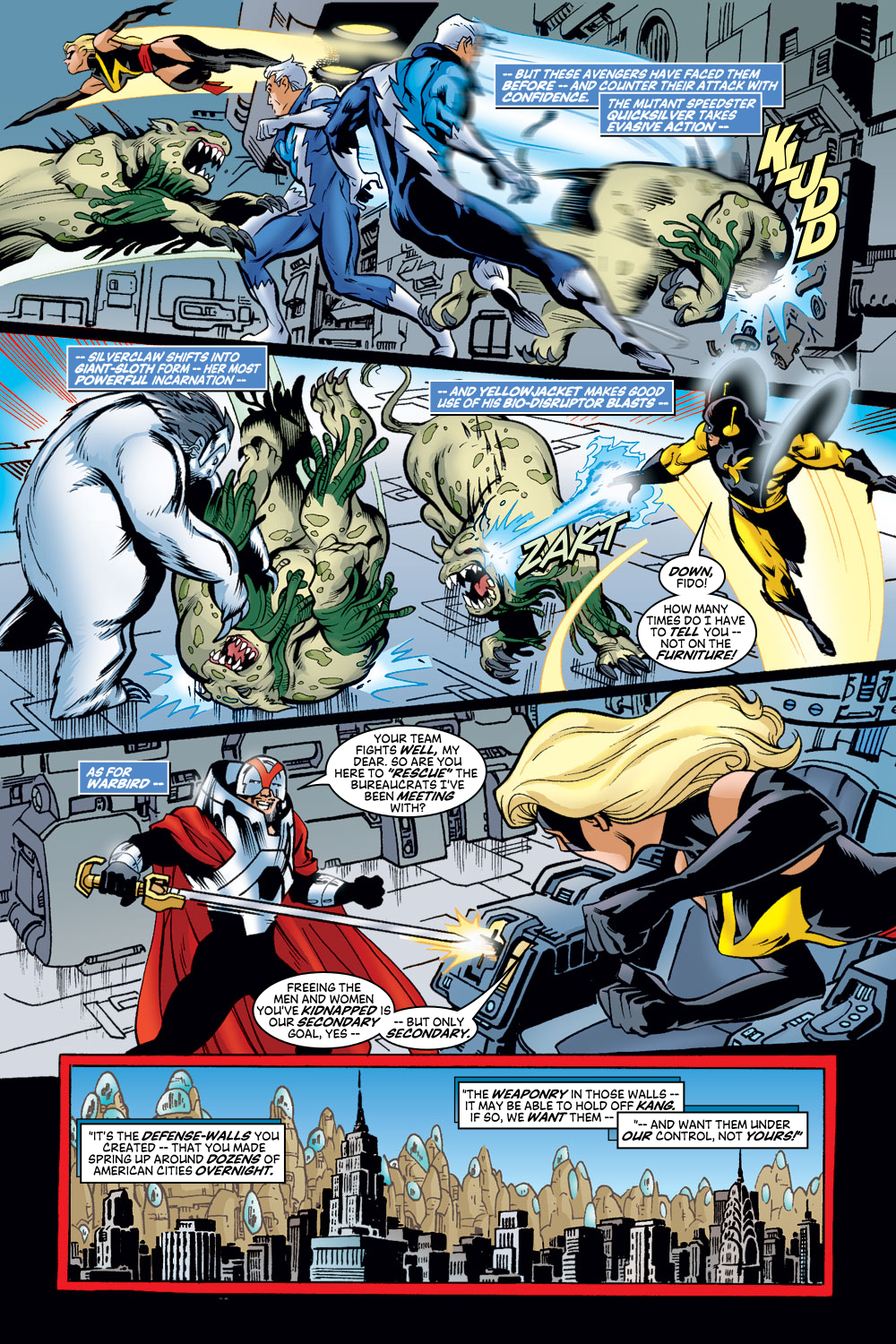 Read online Avengers (1998) comic -  Issue #48 - 16