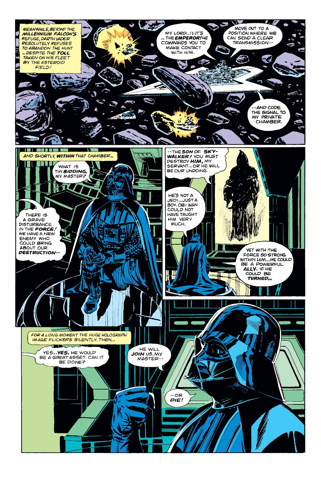Read online Star Wars Legends: The Original Marvel Years - Epic Collection comic -  Issue # TPB 3 (Part 1) - 66