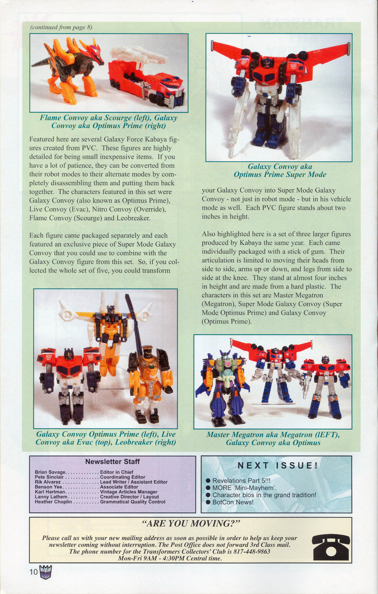 Read online Transformers: Collectors' Club comic -  Issue #10 - 10