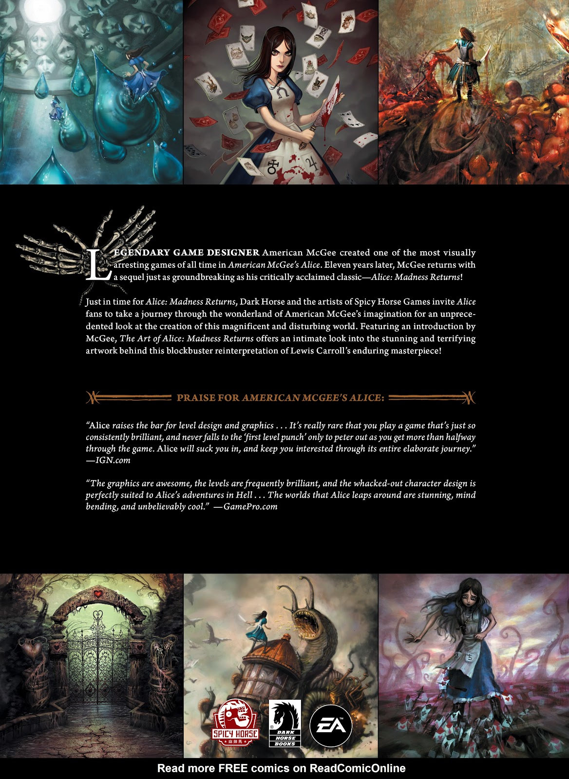 Read online The Art of Alice: Madness Returns comic -  Issue # TPB (Part 2) - 76