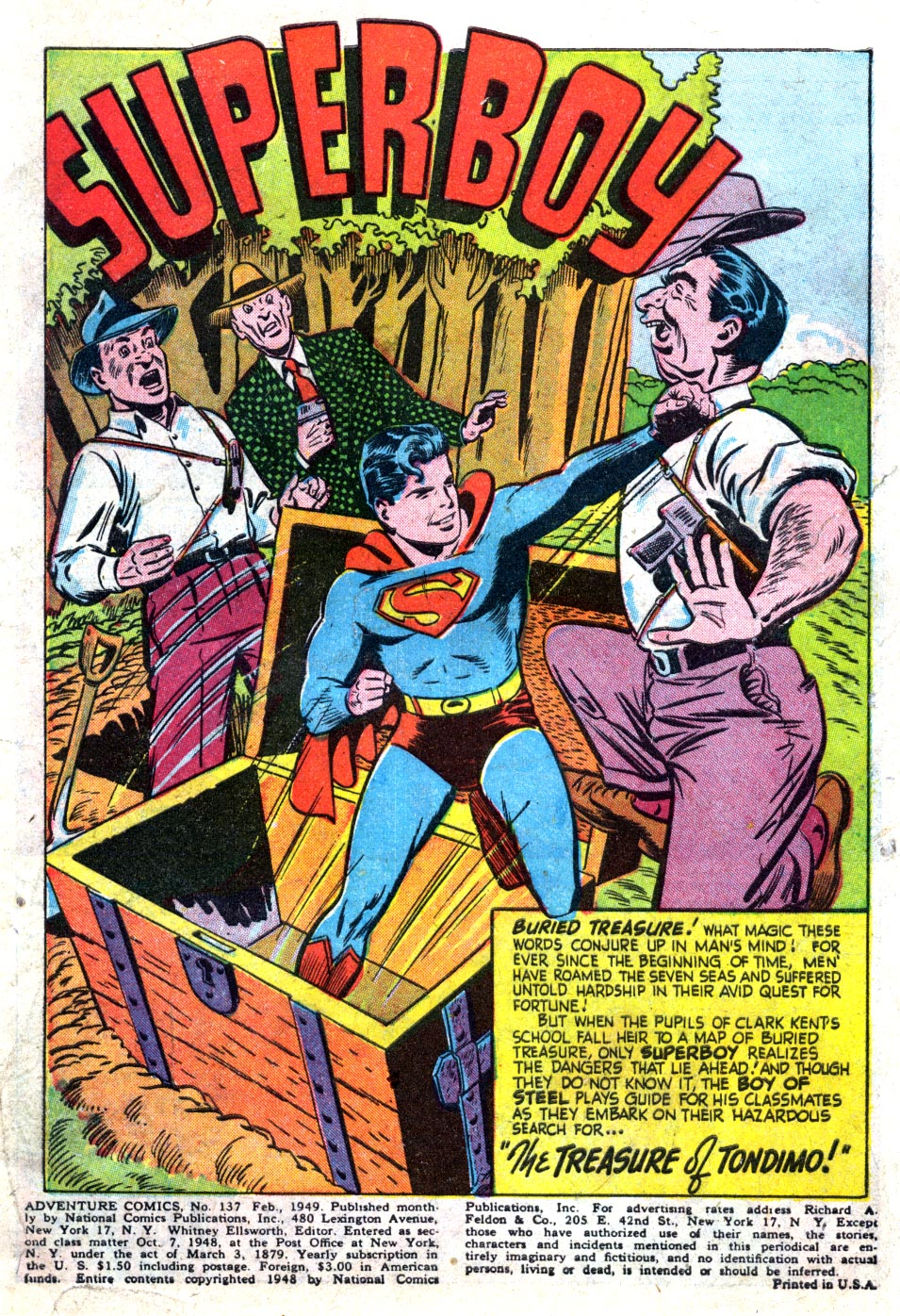 Read online Adventure Comics (1938) comic -  Issue #137 - 3