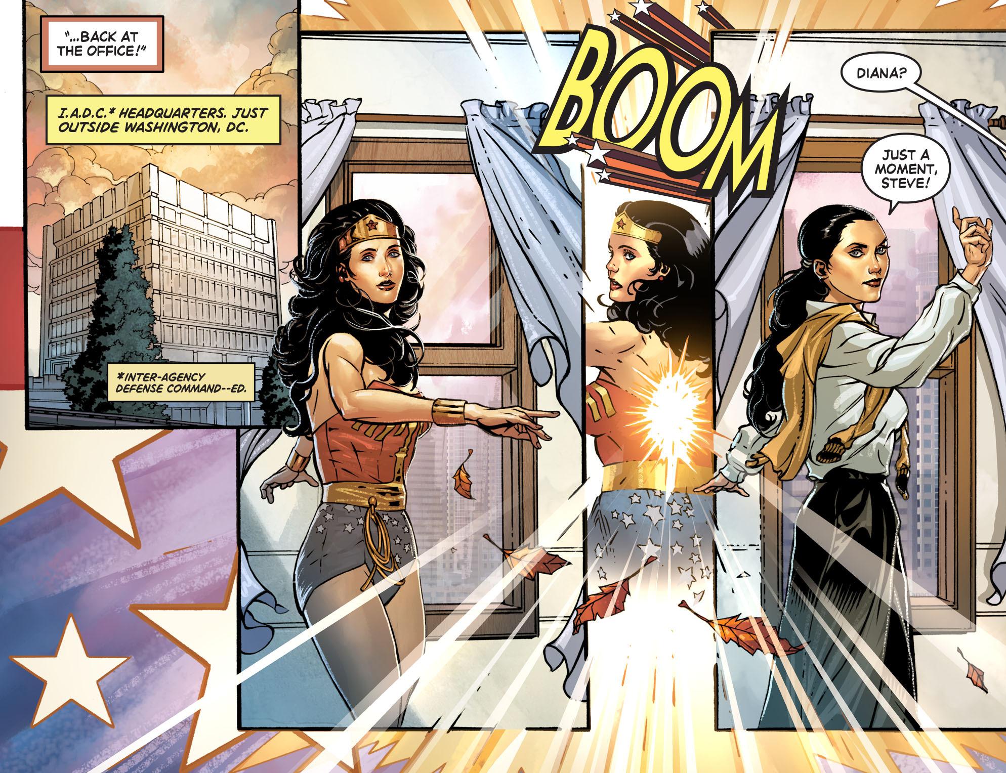 Read online Wonder Woman '77 [I] comic -  Issue #1 - 9