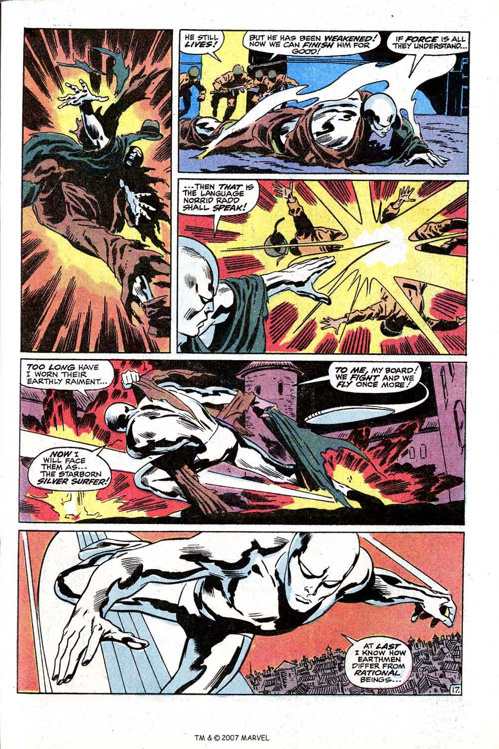 Read online Silver Surfer (1968) comic -  Issue #10 - 29