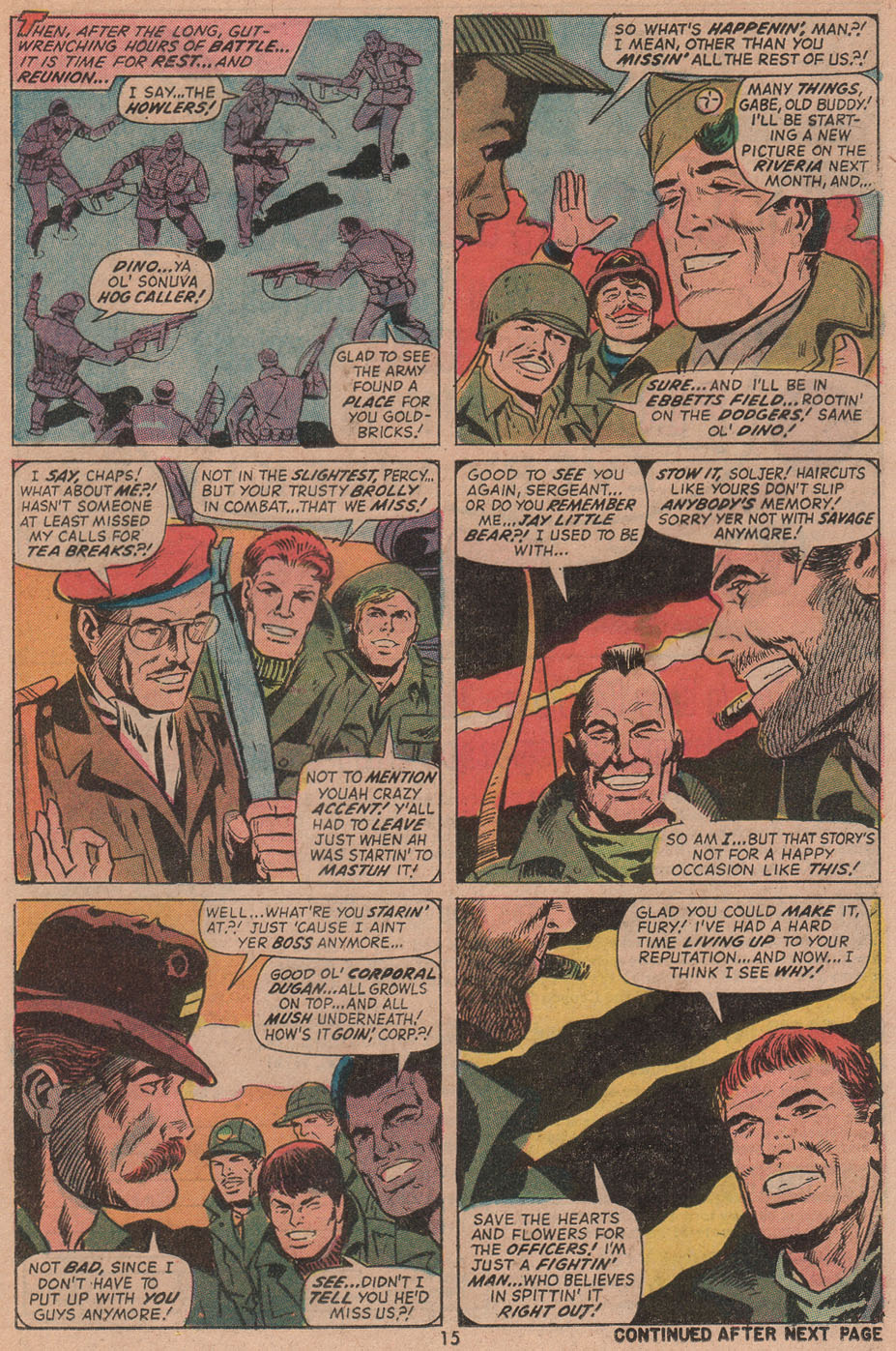 Read online Sgt. Fury comic -  Issue #104 - 17