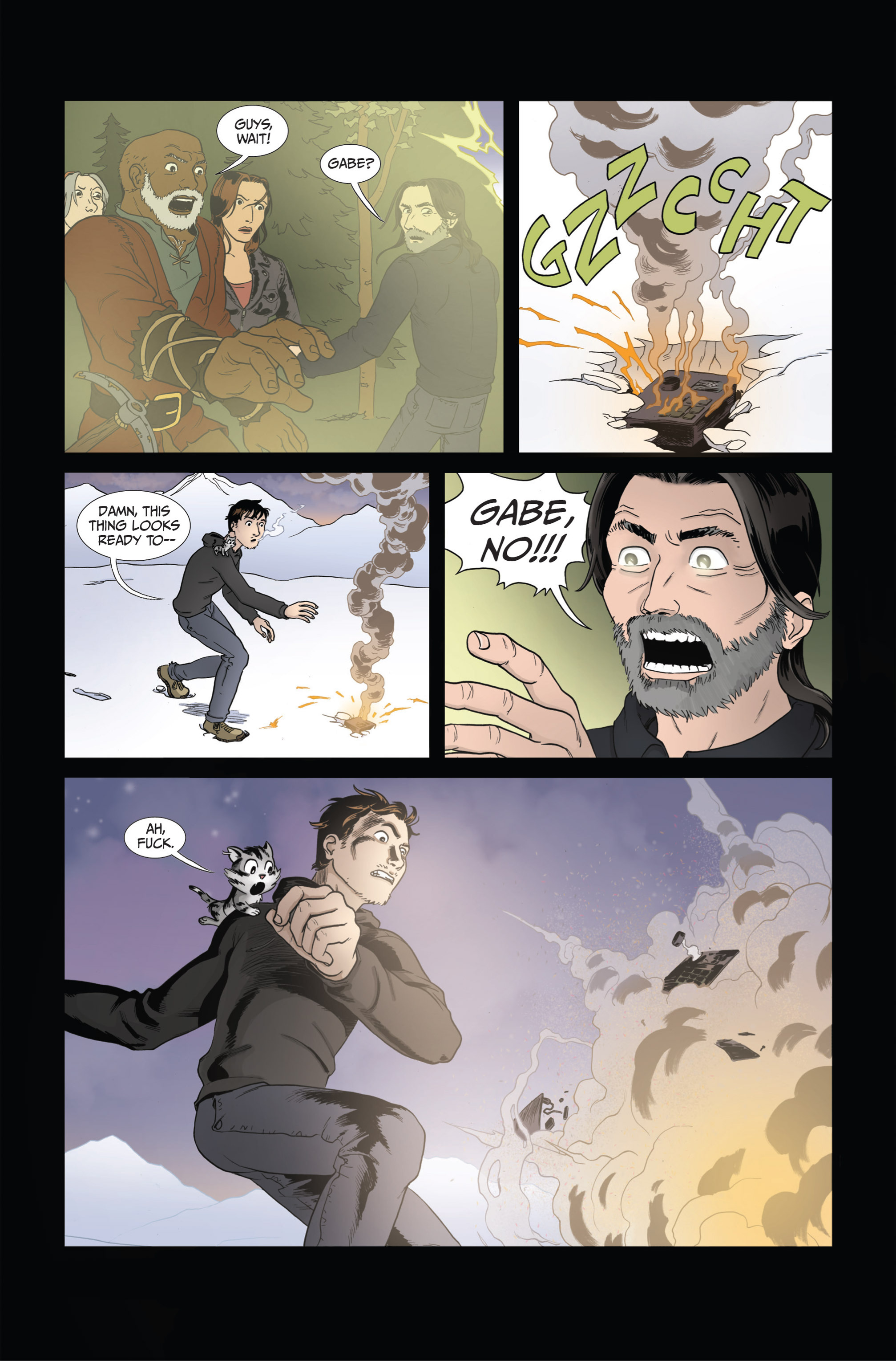 Read online Ehmm Theory: Everything & Small Doses comic -  Issue #4 - 24