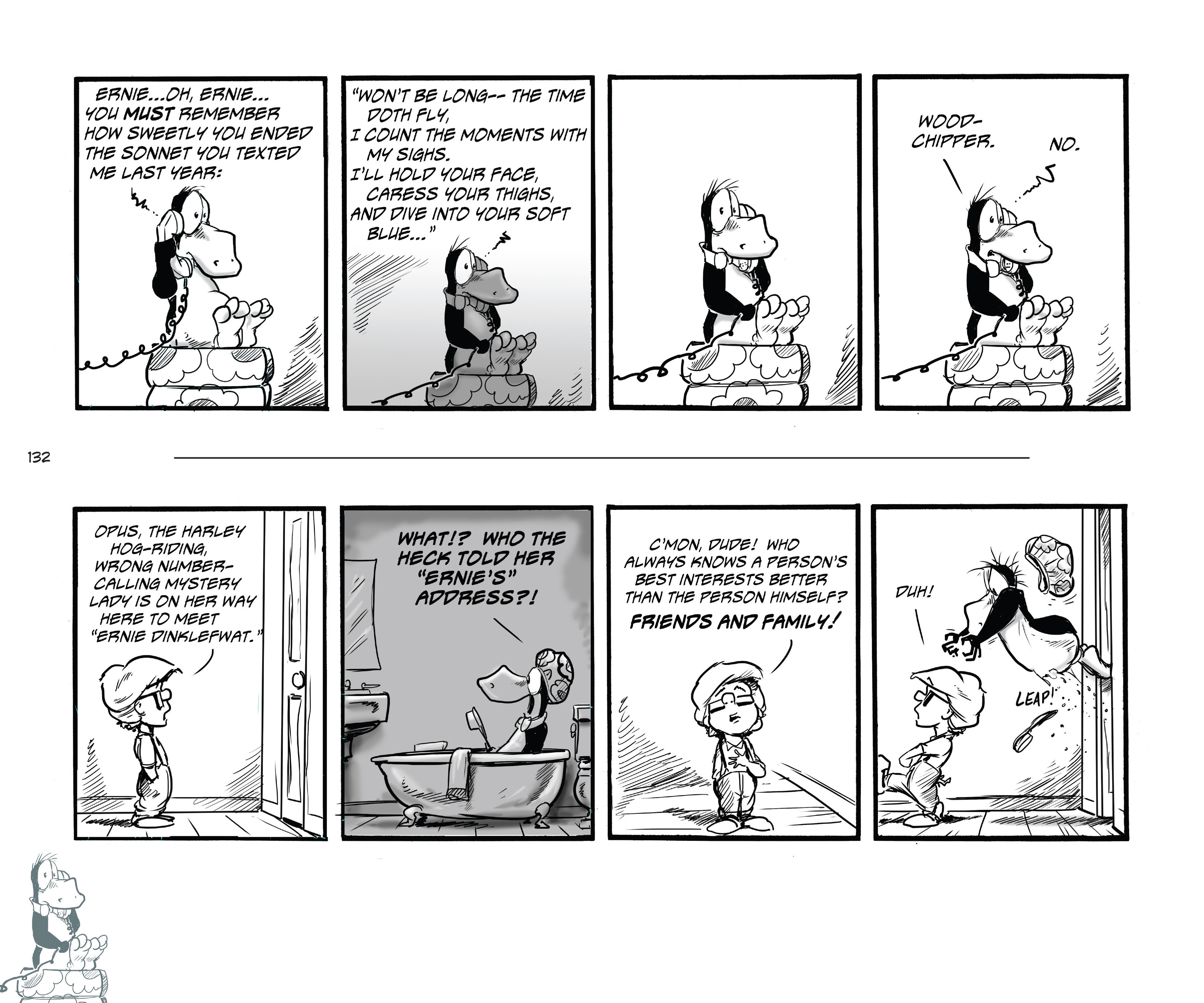 Read online Bloom County Episode XI: A New Hope comic -  Issue # Full - 134