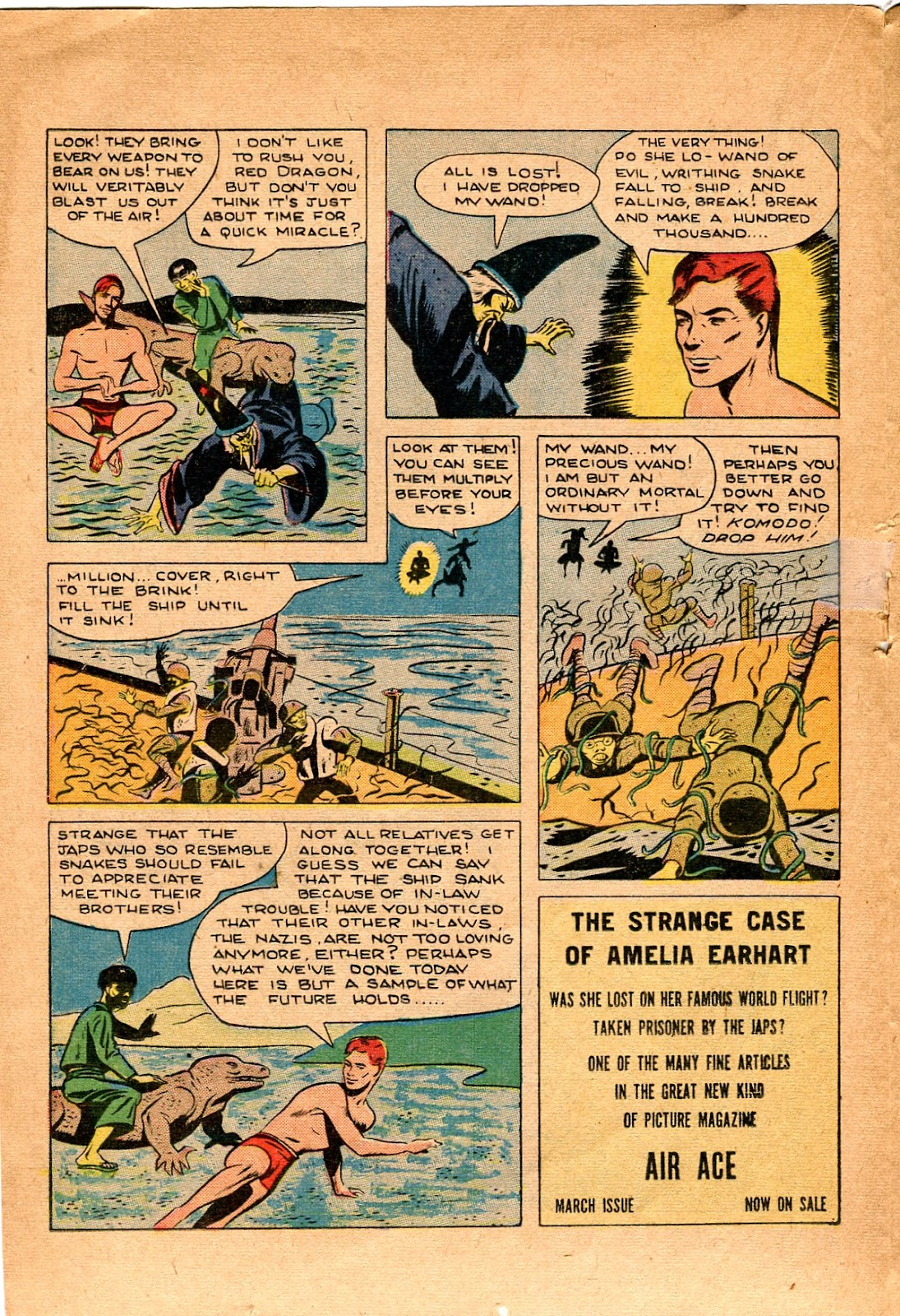 Read online Super-Magician Comics comic -  Issue #34 - 24