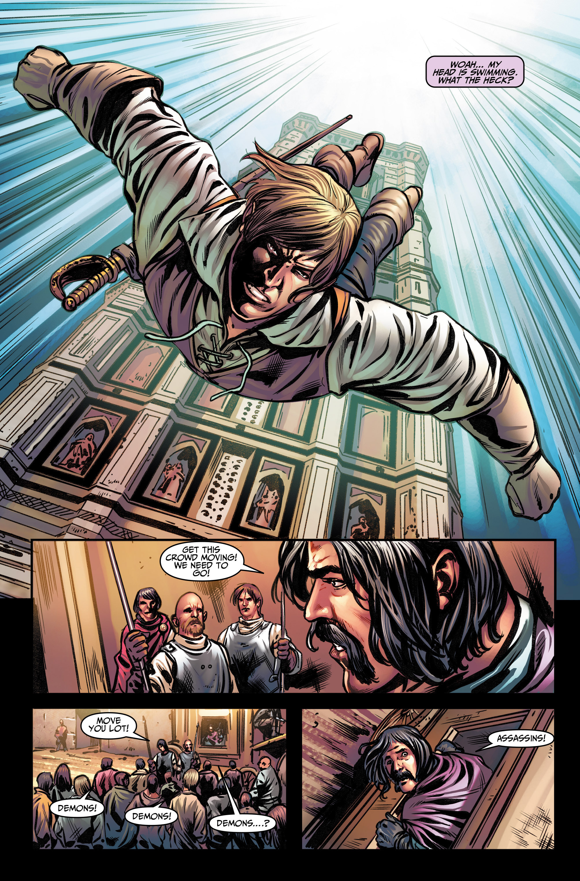Read online Assassin's Creed (2015) comic -  Issue #13 - 5