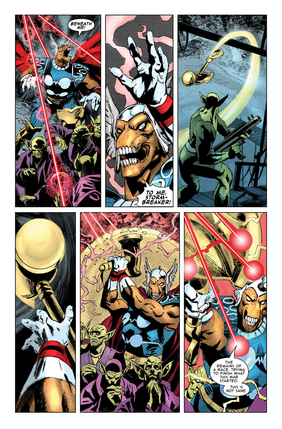 Read online Secret Invasion Aftermath: Beta Ray Bill - The Green of Eden comic -  Issue # Full - 17
