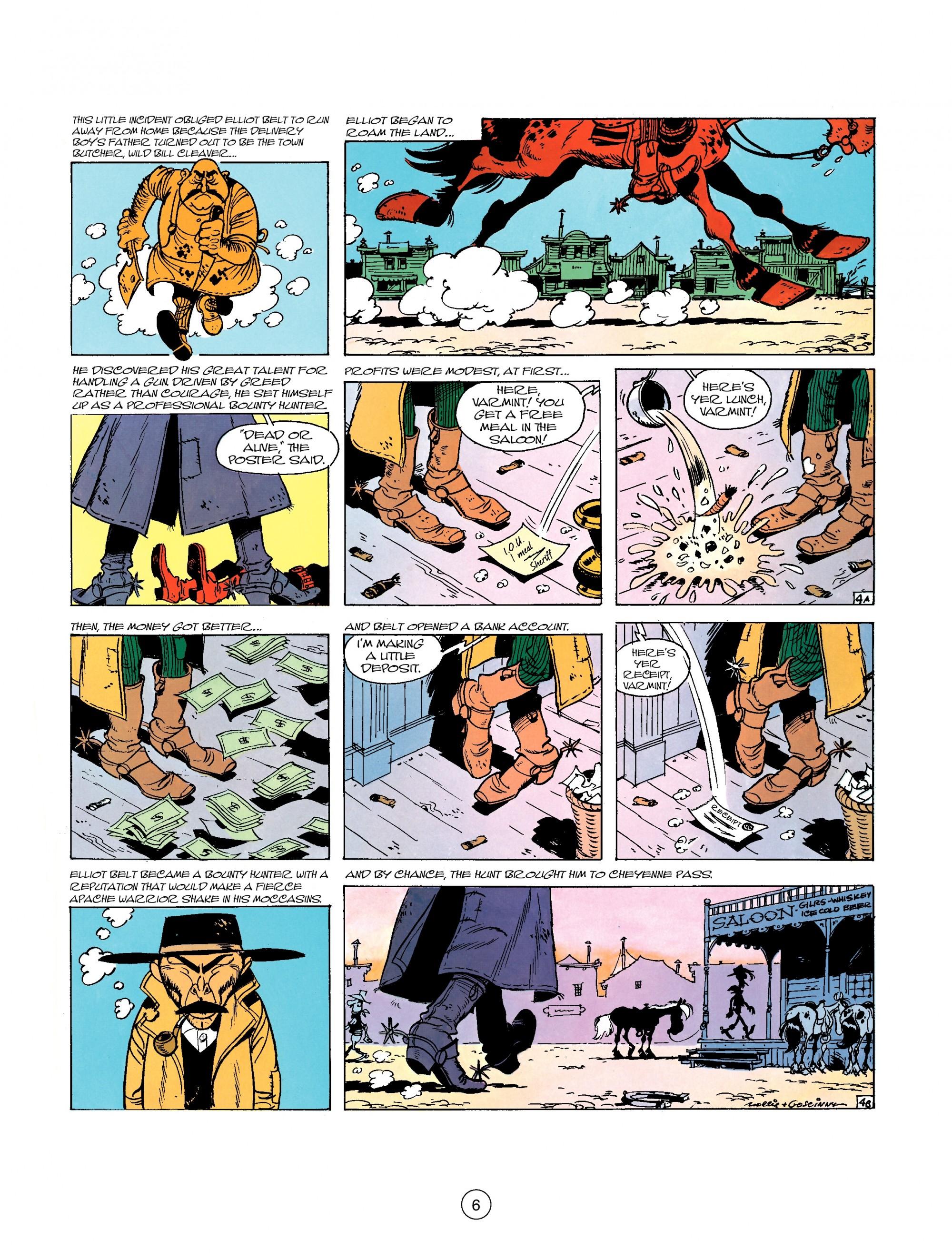 Read online A Lucky Luke Adventure comic -  Issue #26 - 6