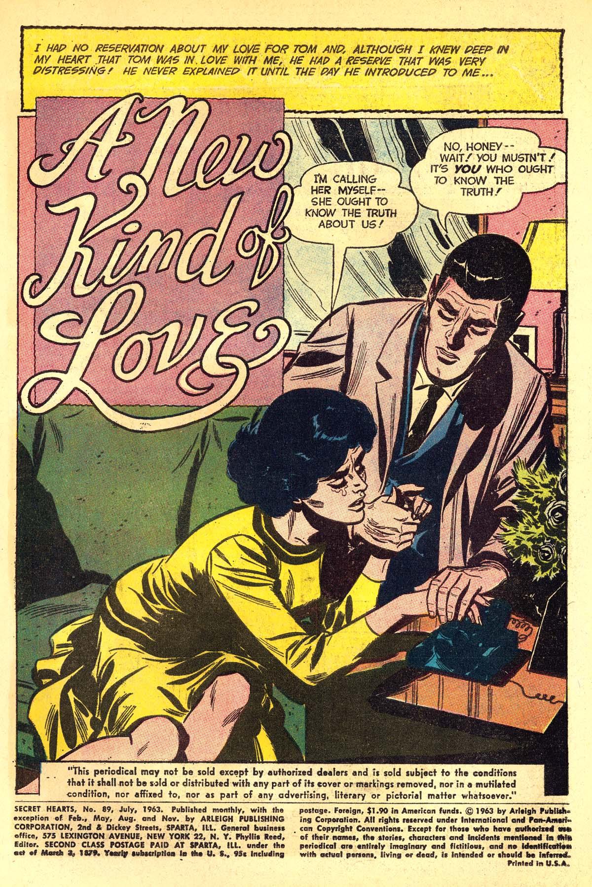 Read online Secret Hearts comic -  Issue #89 - 3
